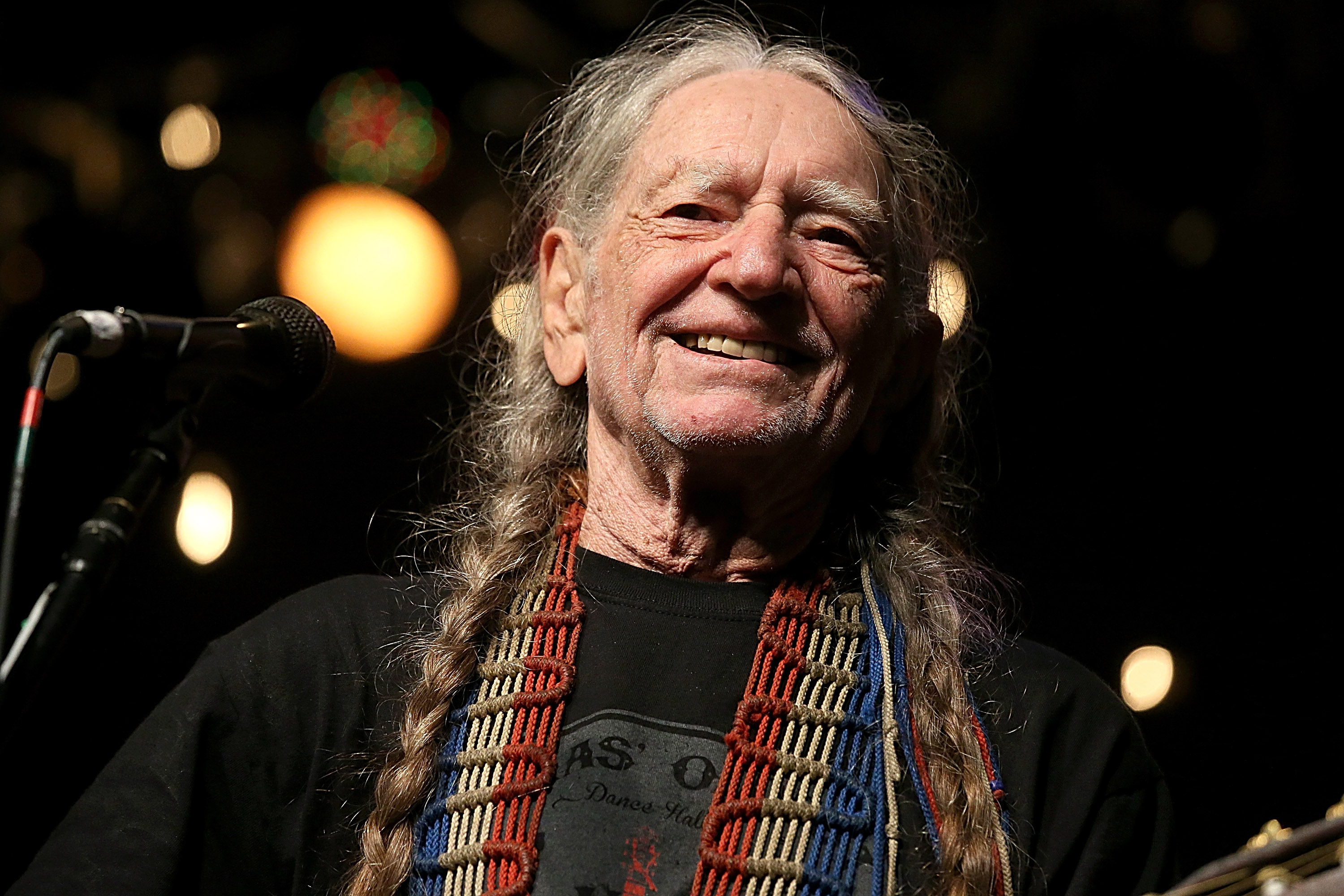Willie Nelson performs in concert during the Heartbreaker Banquet on March 19, 2015 in Luck, Texas