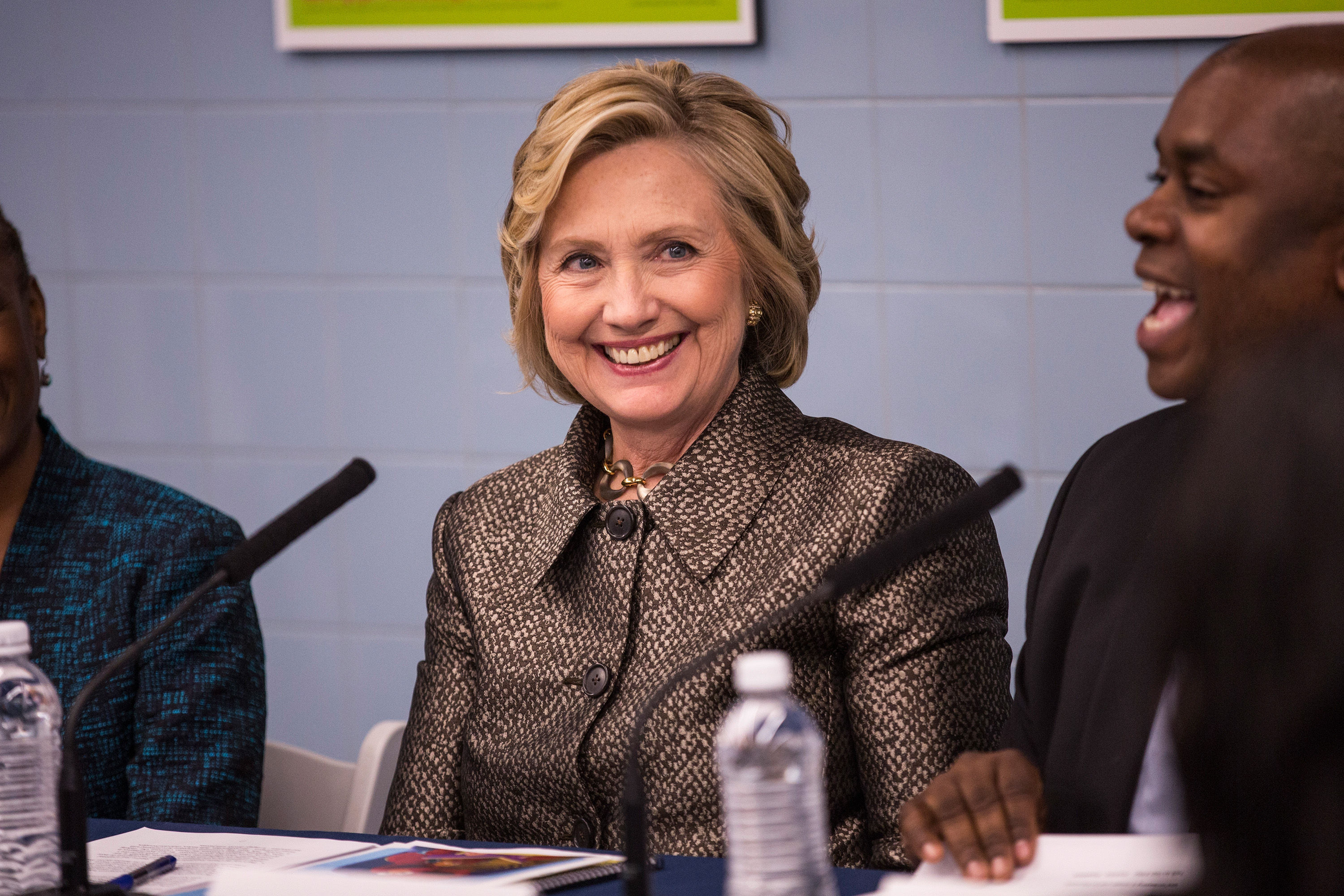 Hillary Clinton on April 1, 2015 in New York City.
