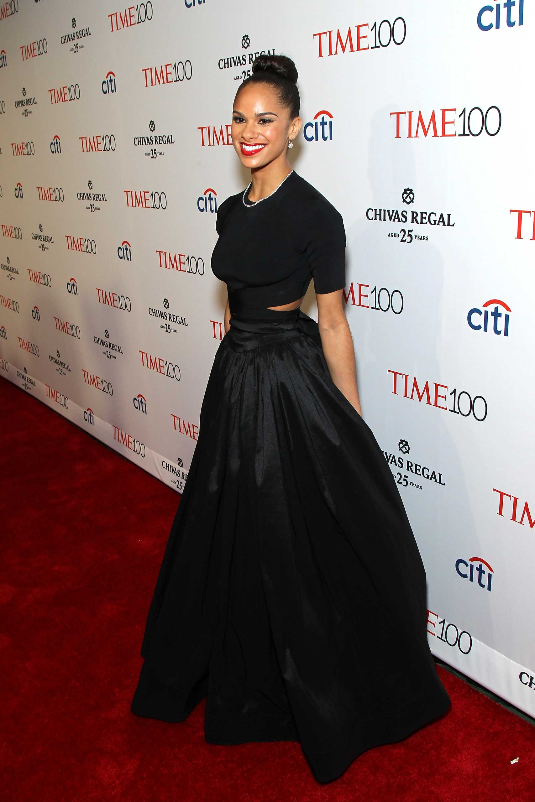 Misty Copeland attends the TIME 100 Gala at Jazz at Lincoln Center in New York City on Apr. 21, 2015.