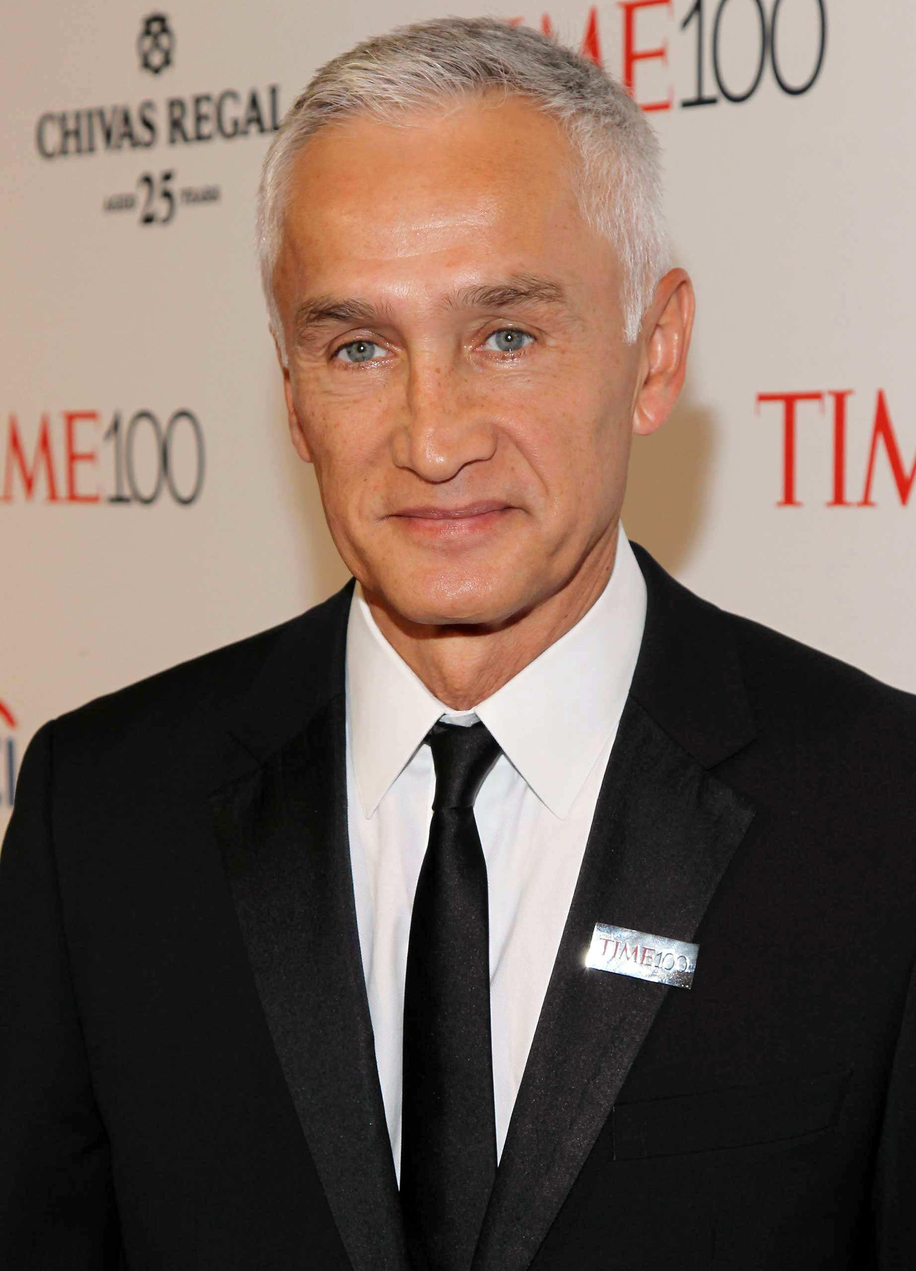 Jorge Ramos attends the TIME 100 Gala at Jazz at Lincoln Center in New York City on Apr. 21, 2015.