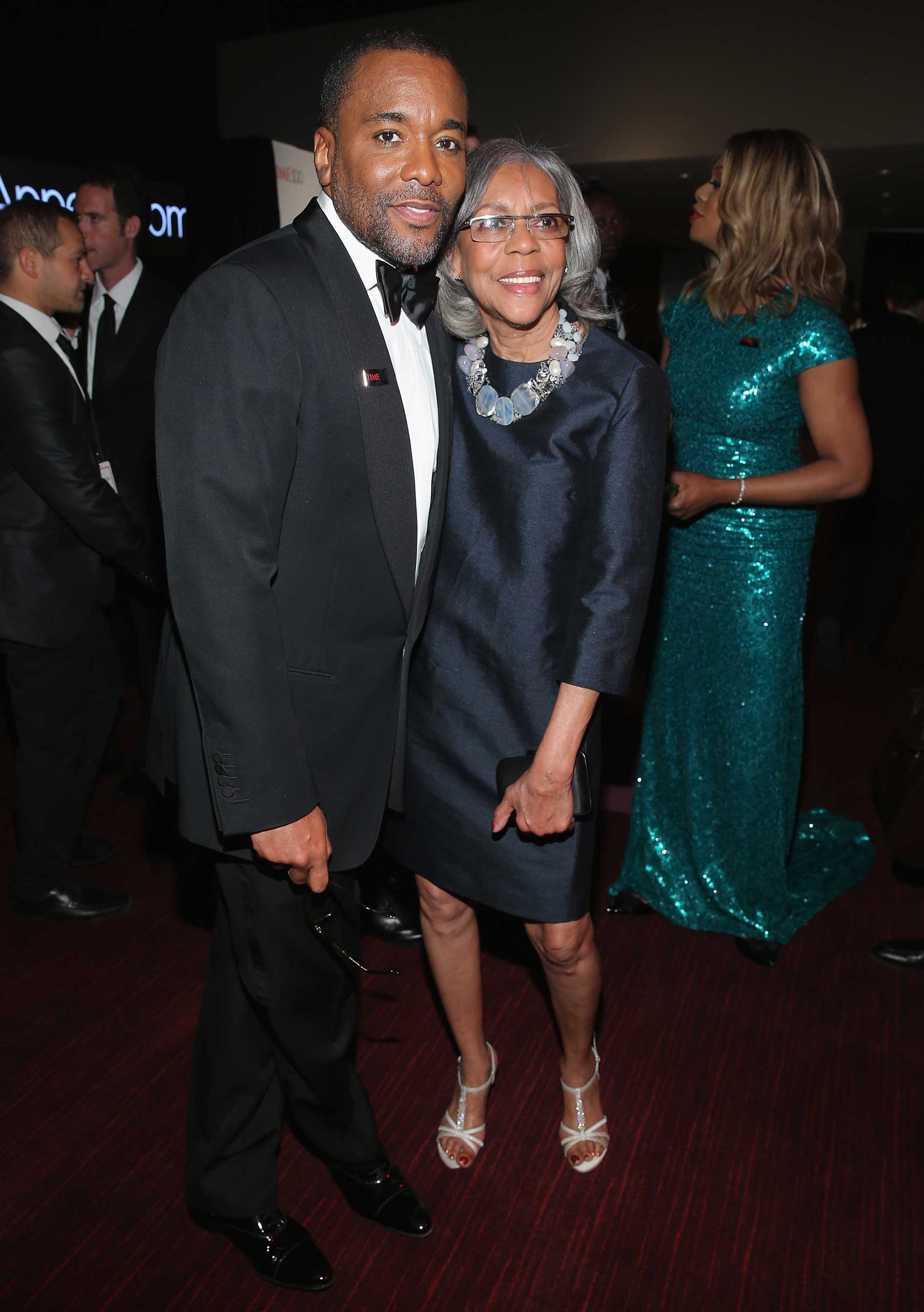 Lee Daniels and Clara Watson attend the TIME 100 Gala at Jazz at Lincoln Center in New York City on Apr. 21, 2015.