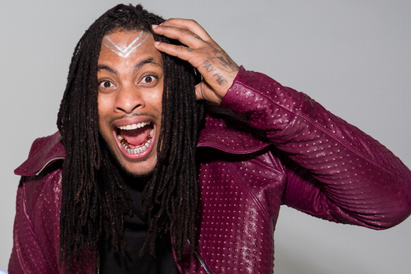 Rapper Waka Flocka Flame prepares to shoot the video for  Rage The Night Away   in Los Angeles on March 18, 2014.