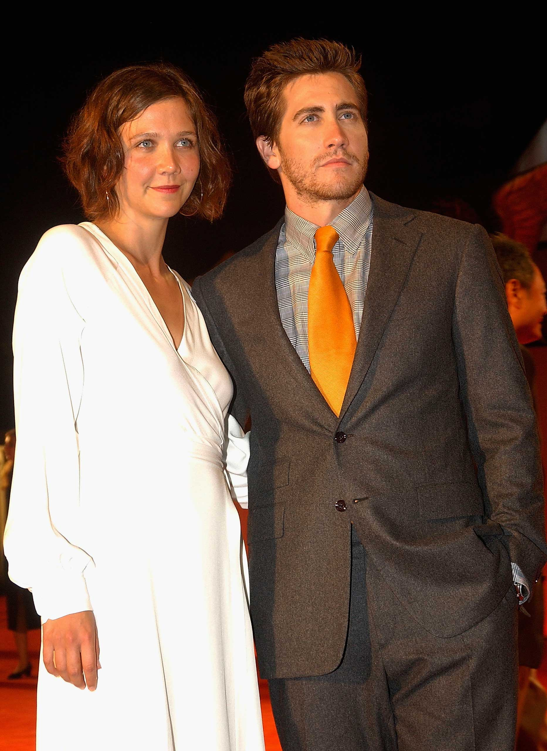 THE GYLLENHAALS: Elder sister Maggie gained fame by playing the on-screen sister of her brother Jake in the cult hit 'Donnie Darko.'