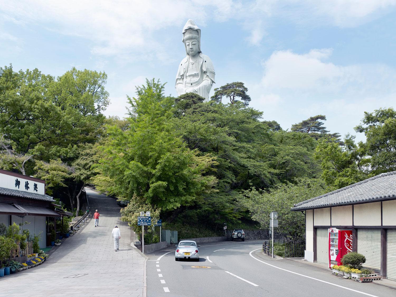 Grand Byakue, 42m (137 ft.), built in 1936. Takazaki, Japan.