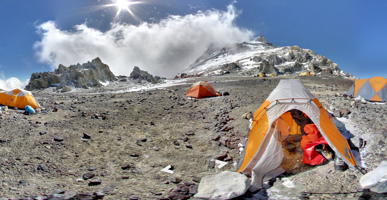 Aconcagua, located in Argentina, is the highest peak in the Western and Southern hemispheres.