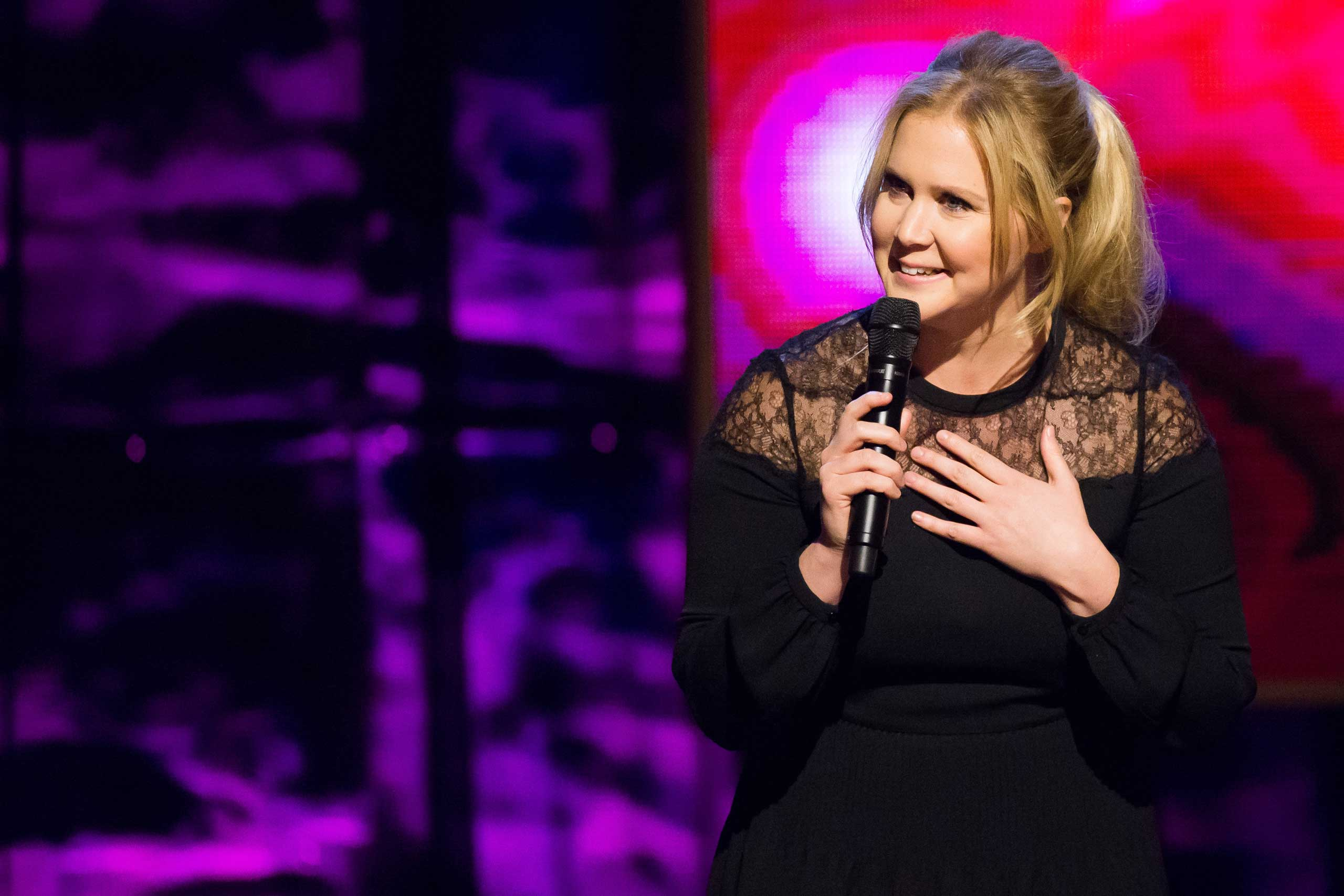 Comedian Amy Schumer.