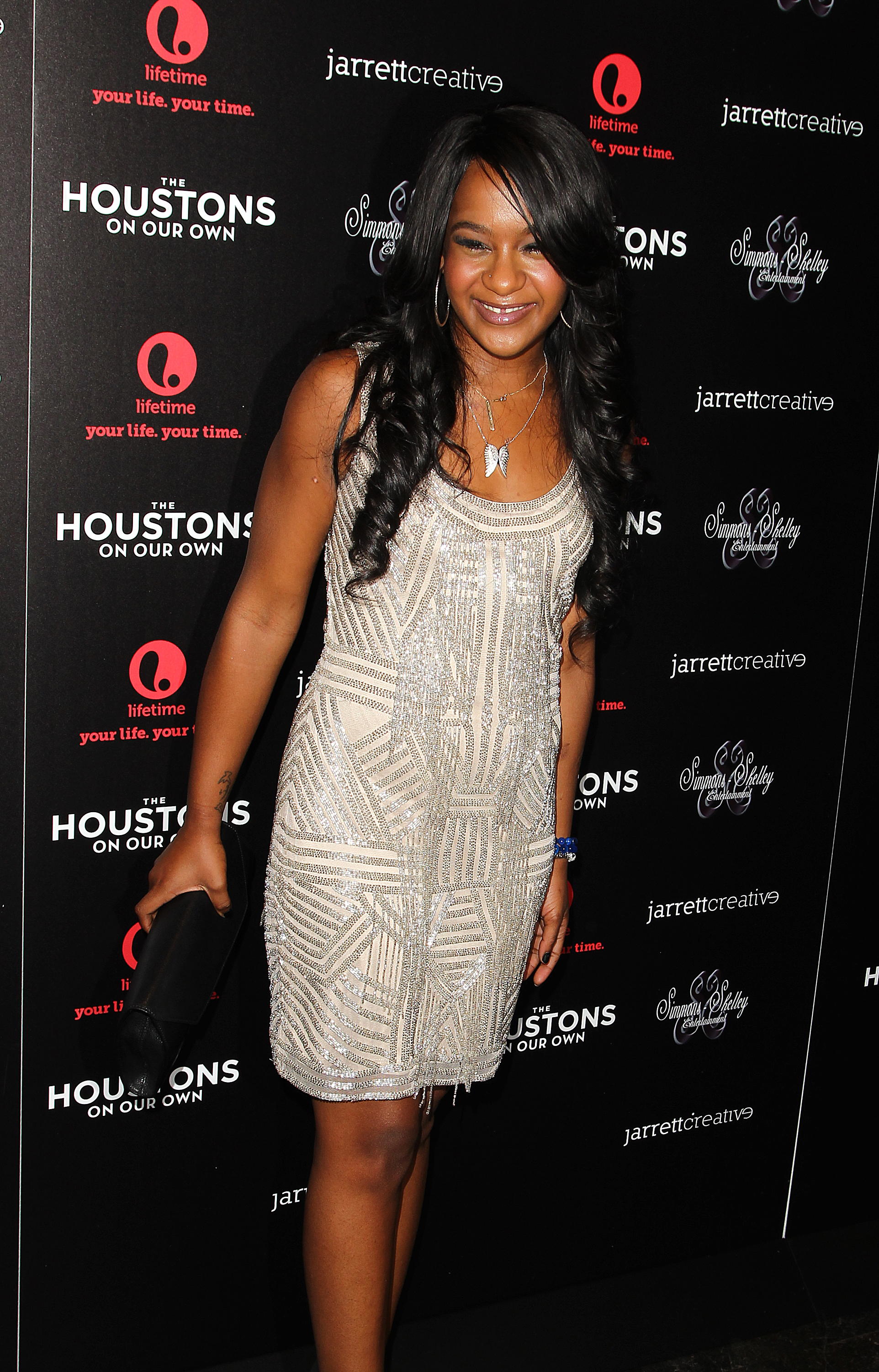 Bobbi Kristina Brown attends the premiere party for  The Houstons On Our Own  in New York City on Oct. 22, 2012.