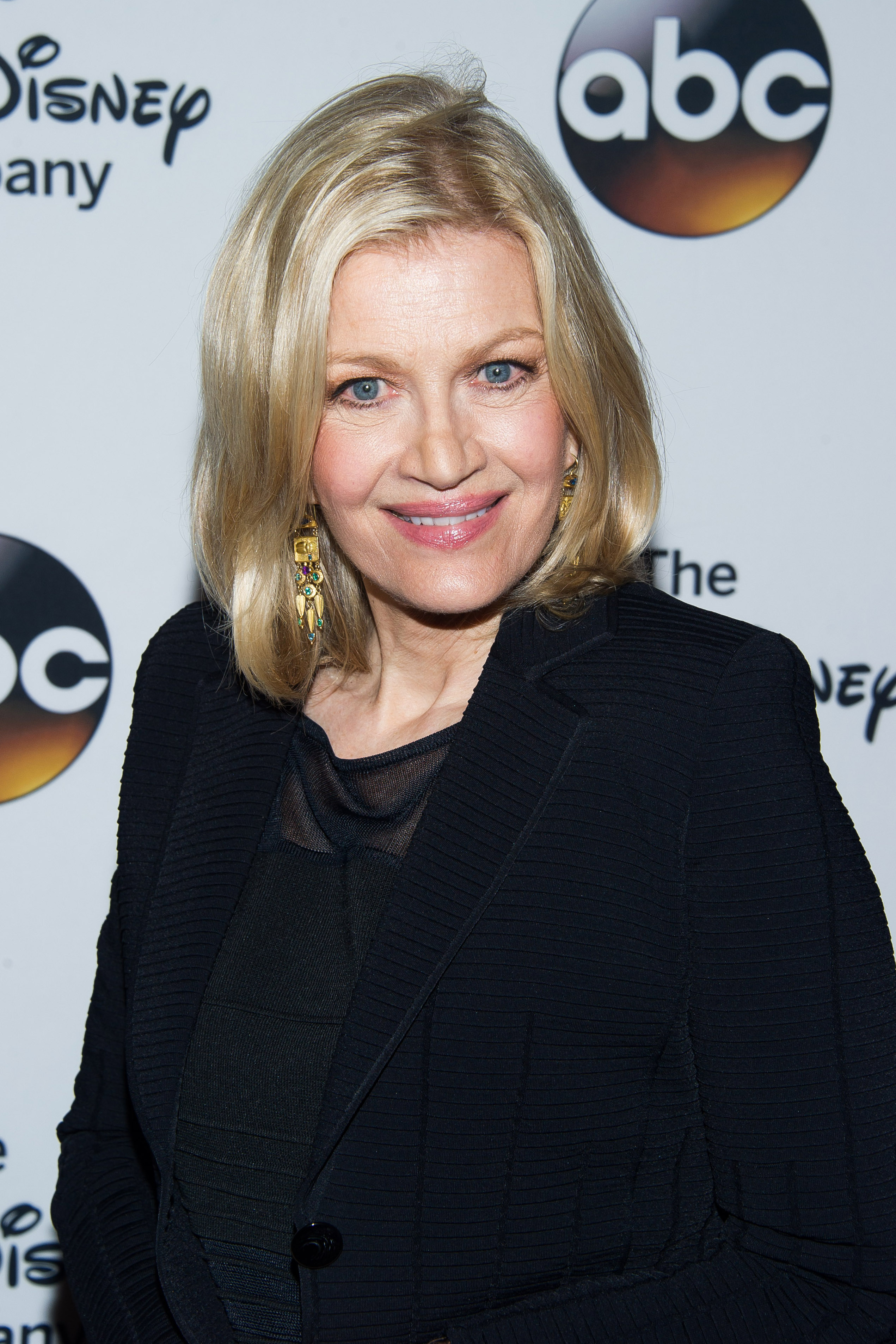 Diane Sawyer attends 'A Celebration of Barbara Walters' in New York City on May 14, 2014.