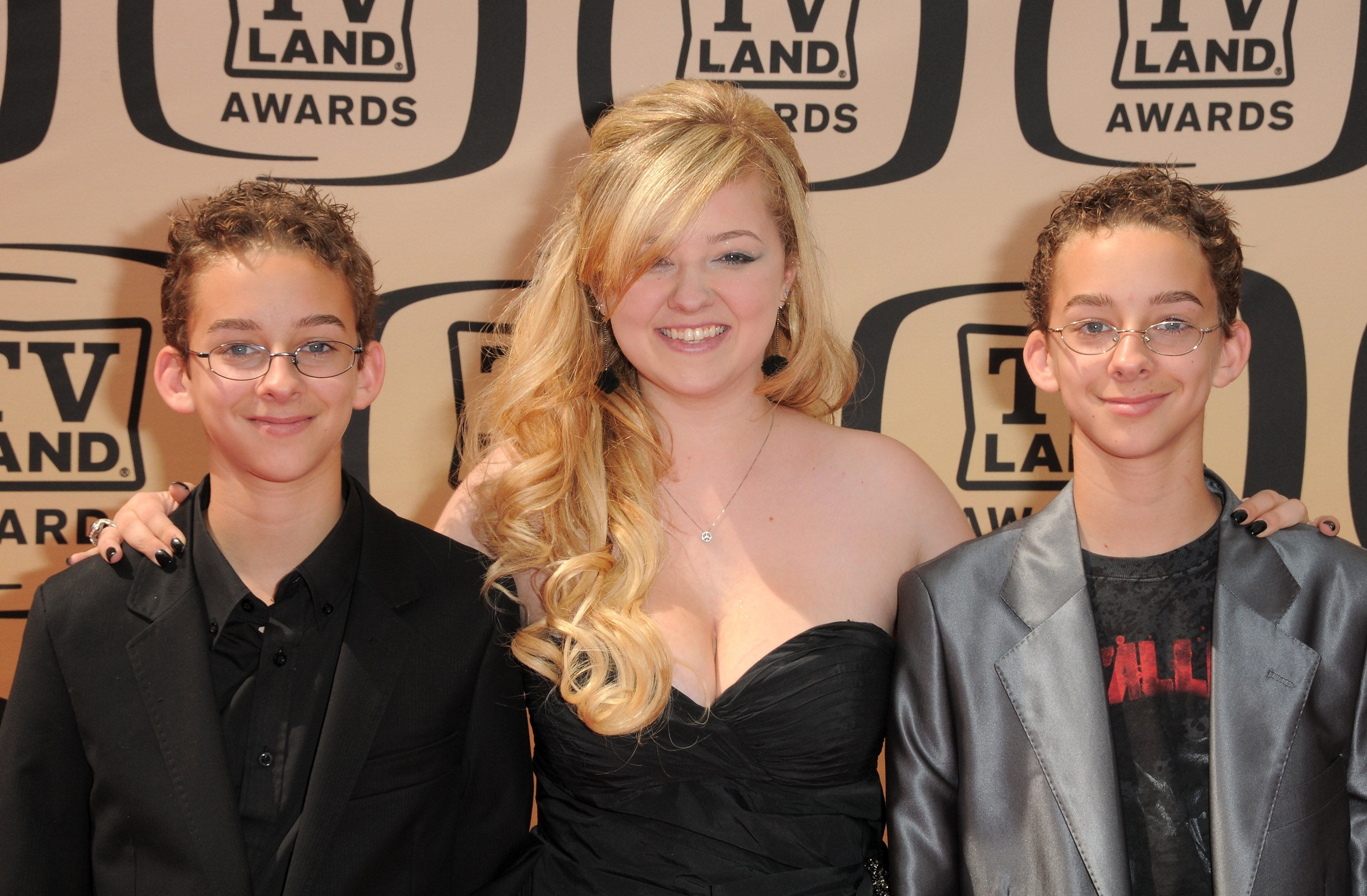 Sawyer Sweeten, Madylin Sweeten and Sullivan Sweeten, left to right, arrives at 8th Annual TV Land Awards at Sony Studios on April 17, 2010, in Los Angeles, Calif.