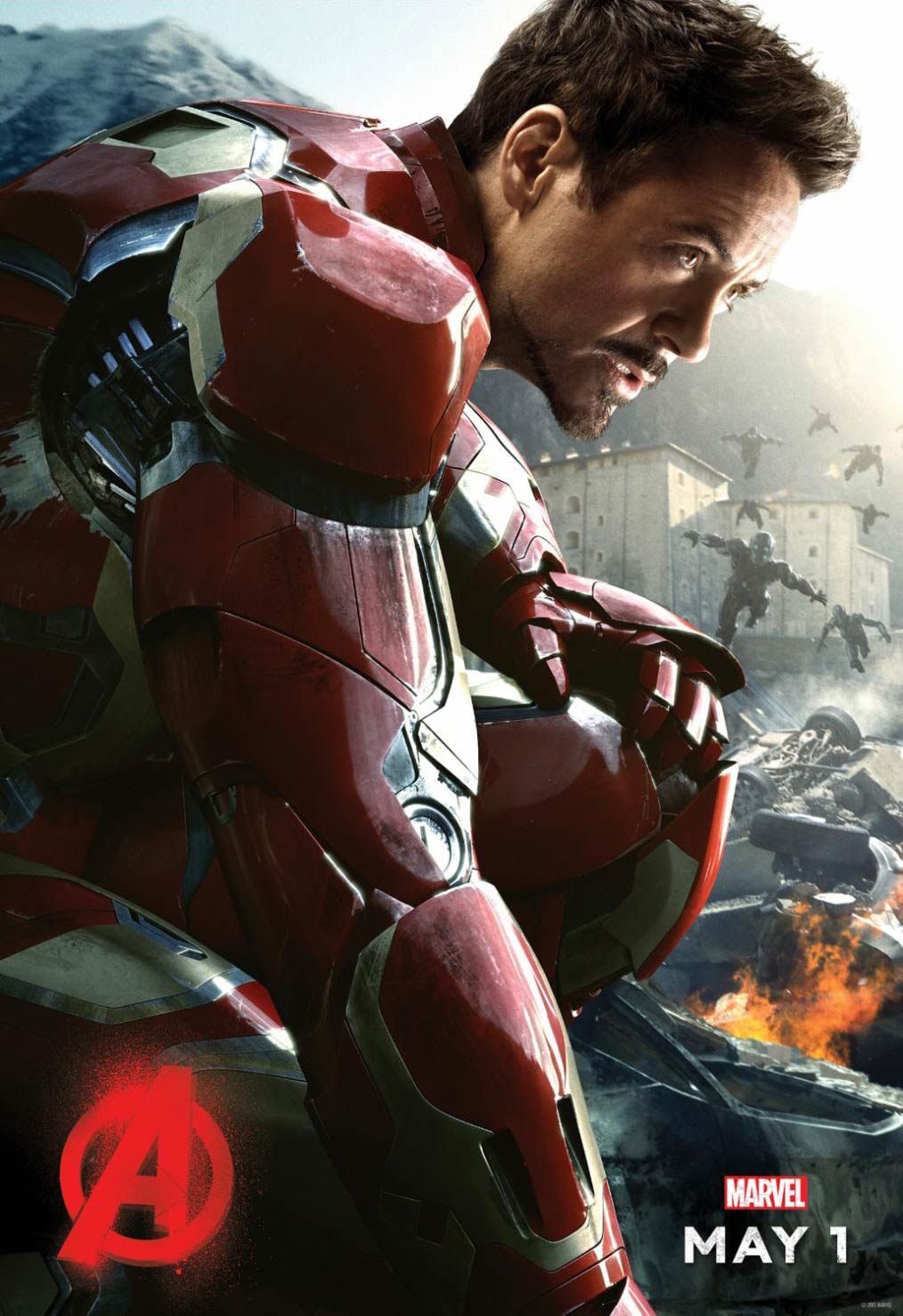 <strong>Robert Downey Jr. as Iron Man</strong>