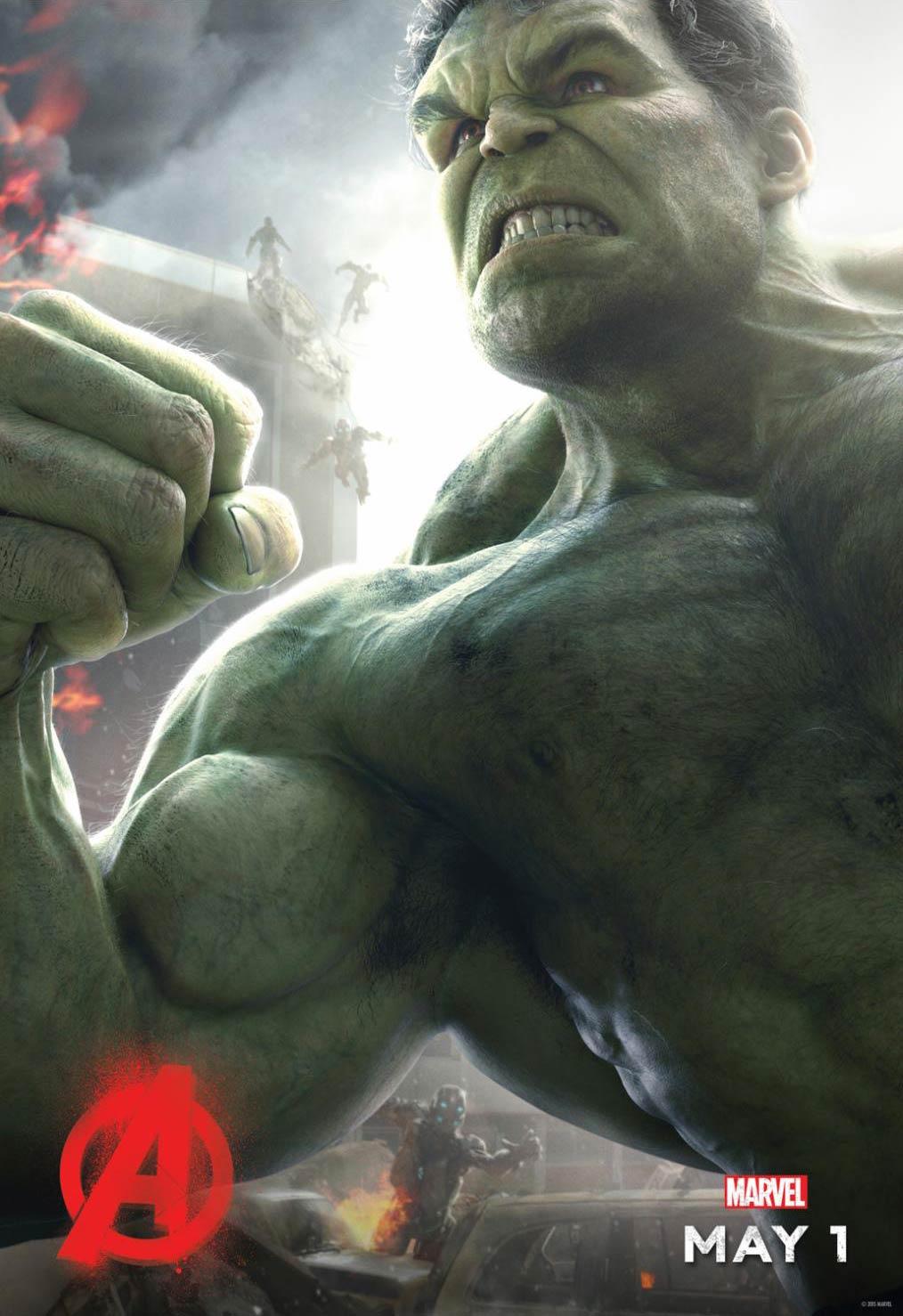 <strong>Mark Ruffalo as the Hulk</strong>