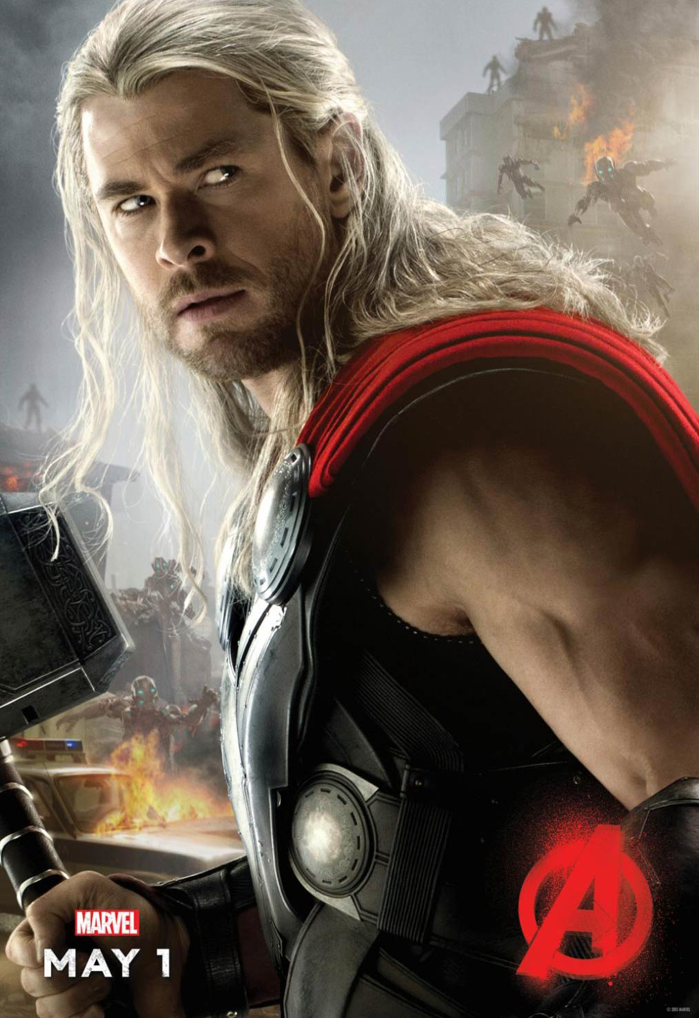 <strong>Chris Hemsworth as Thor</strong>