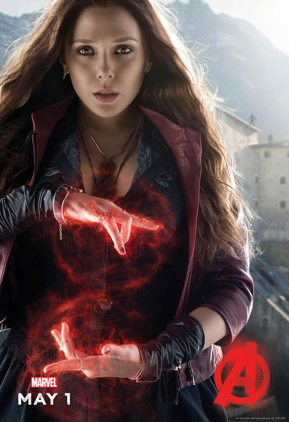 <strong>Elizabeth Olsen as Scarlet Witch</strong>