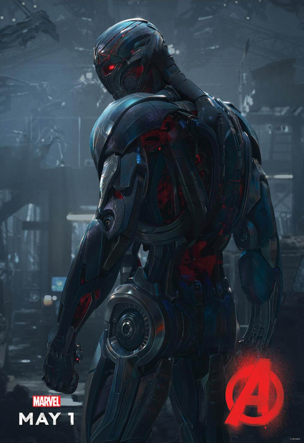 <strong>James Spader as the voice of Ultron</strong>