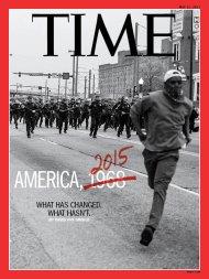 America 1968 Baltimore Riots 2015 Time Magazine Cover