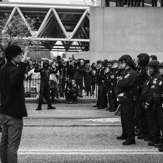 Baltimore Protests Riots Freddie Gray Devin Allen