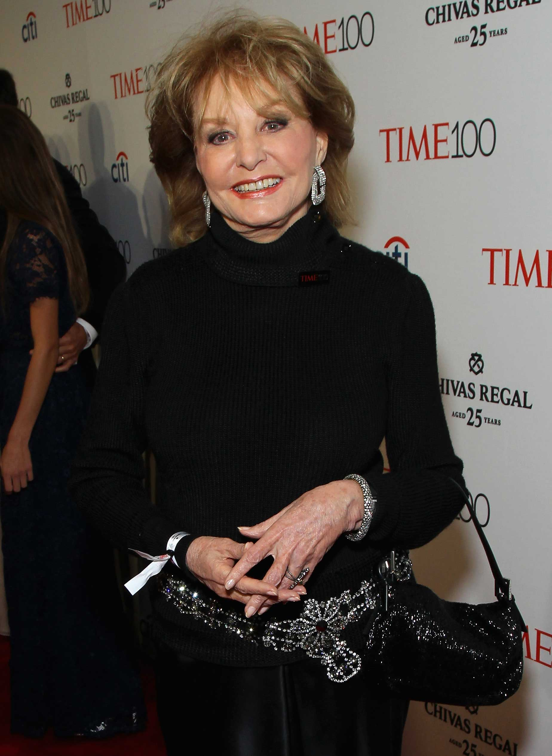 Barbara Walters attends the TIME 100 Gala at Jazz at Lincoln Center in New York City on Apr. 21, 2015.