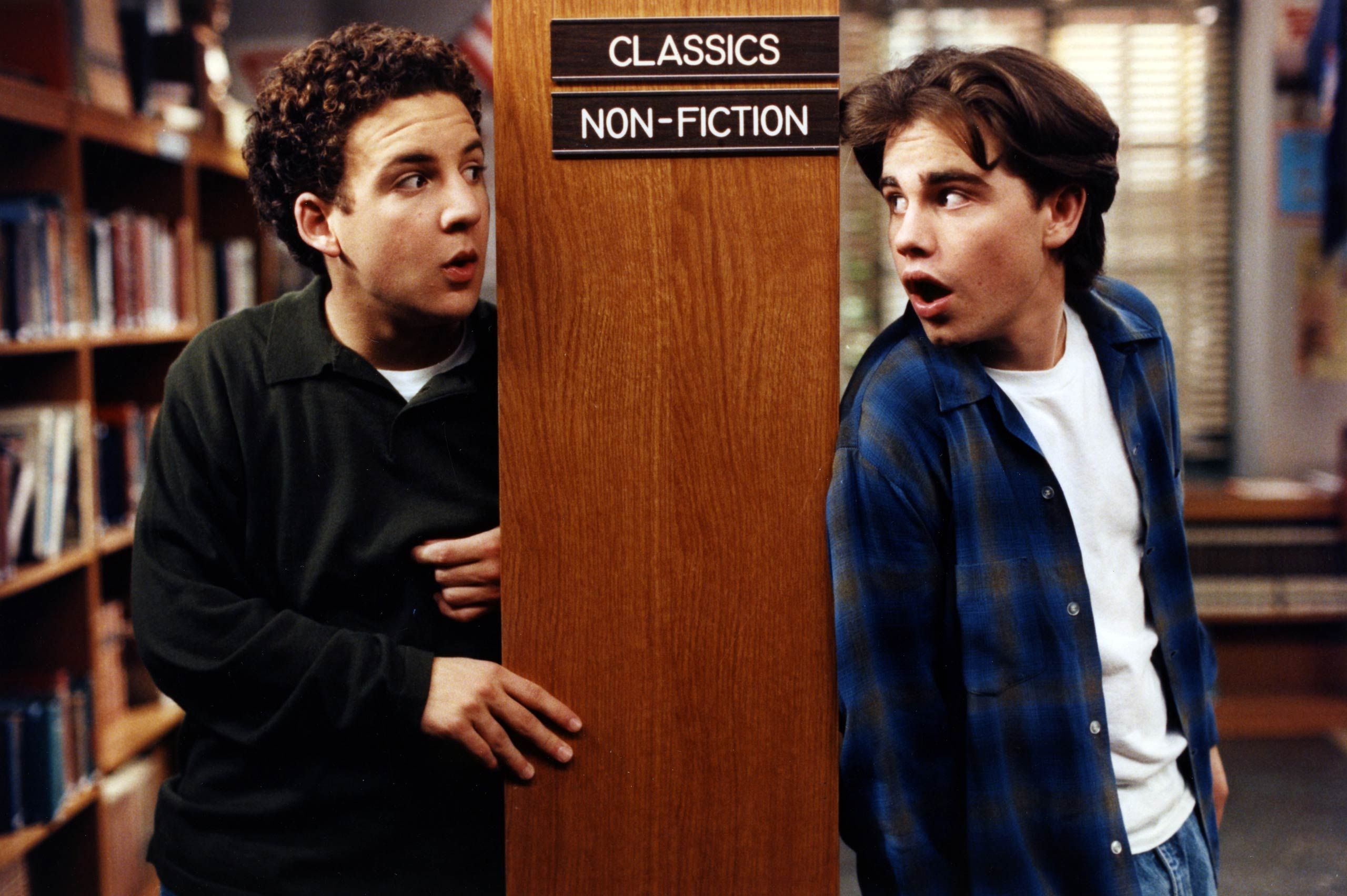 <strong>Cory and Shawn in <i>Boy Meets World</i></strong>