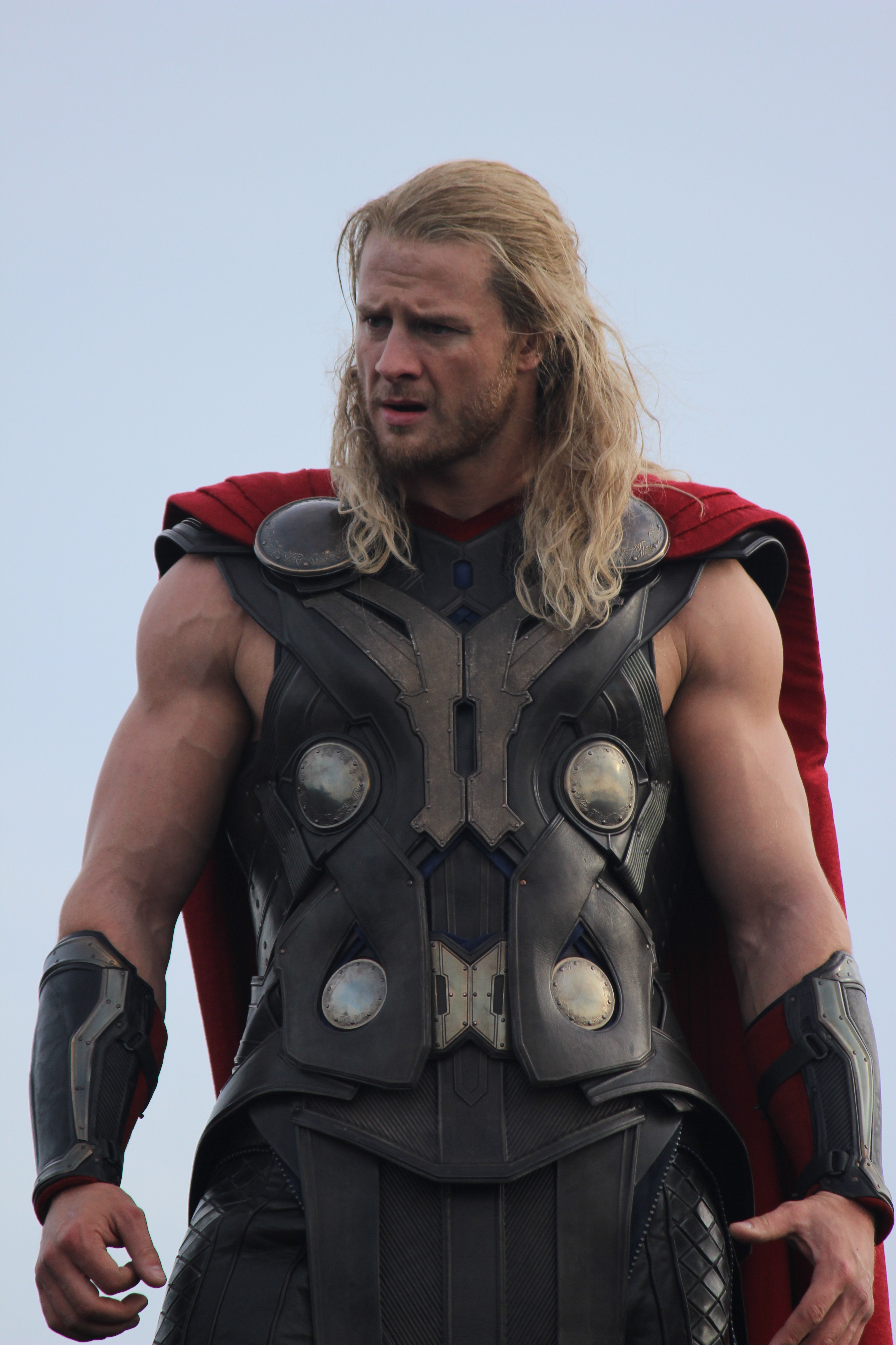 Bobby Holland Hanton as Thor in The Avengers: Age of Ultron