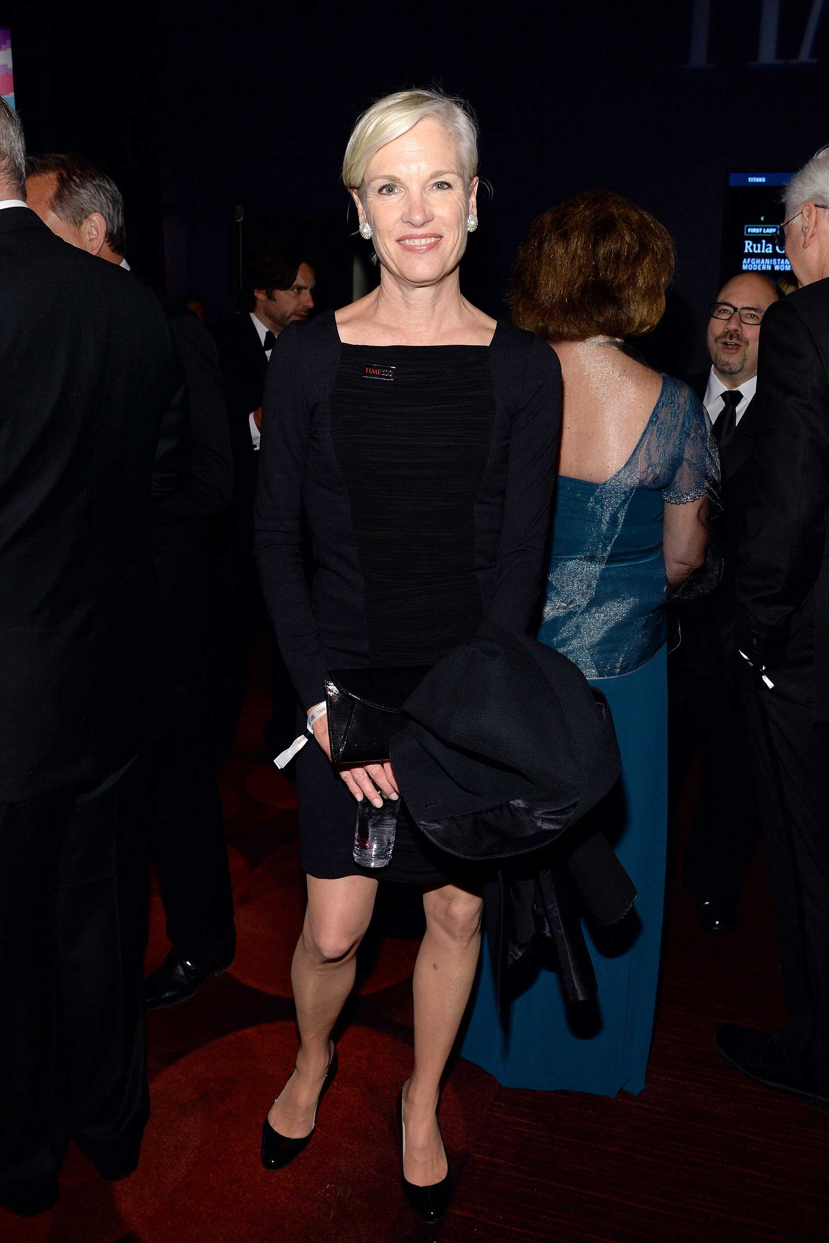 Cecile Richards attends the Time 100 Gala held at Jazz at Lincoln Center in New York City on April 21, 2015.