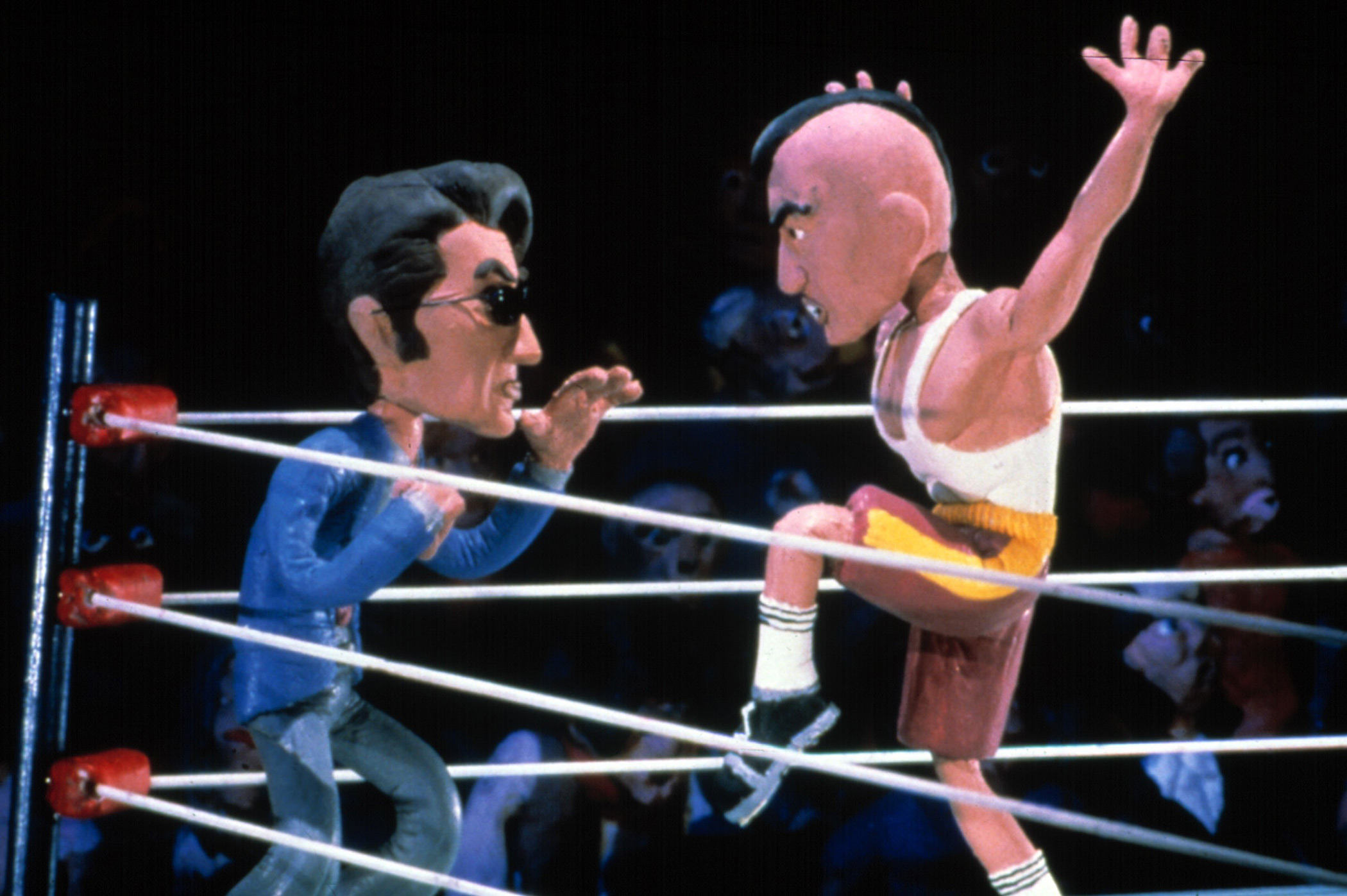 Al Pacino vs. Robert De Niro on Celebrity Deathmatch