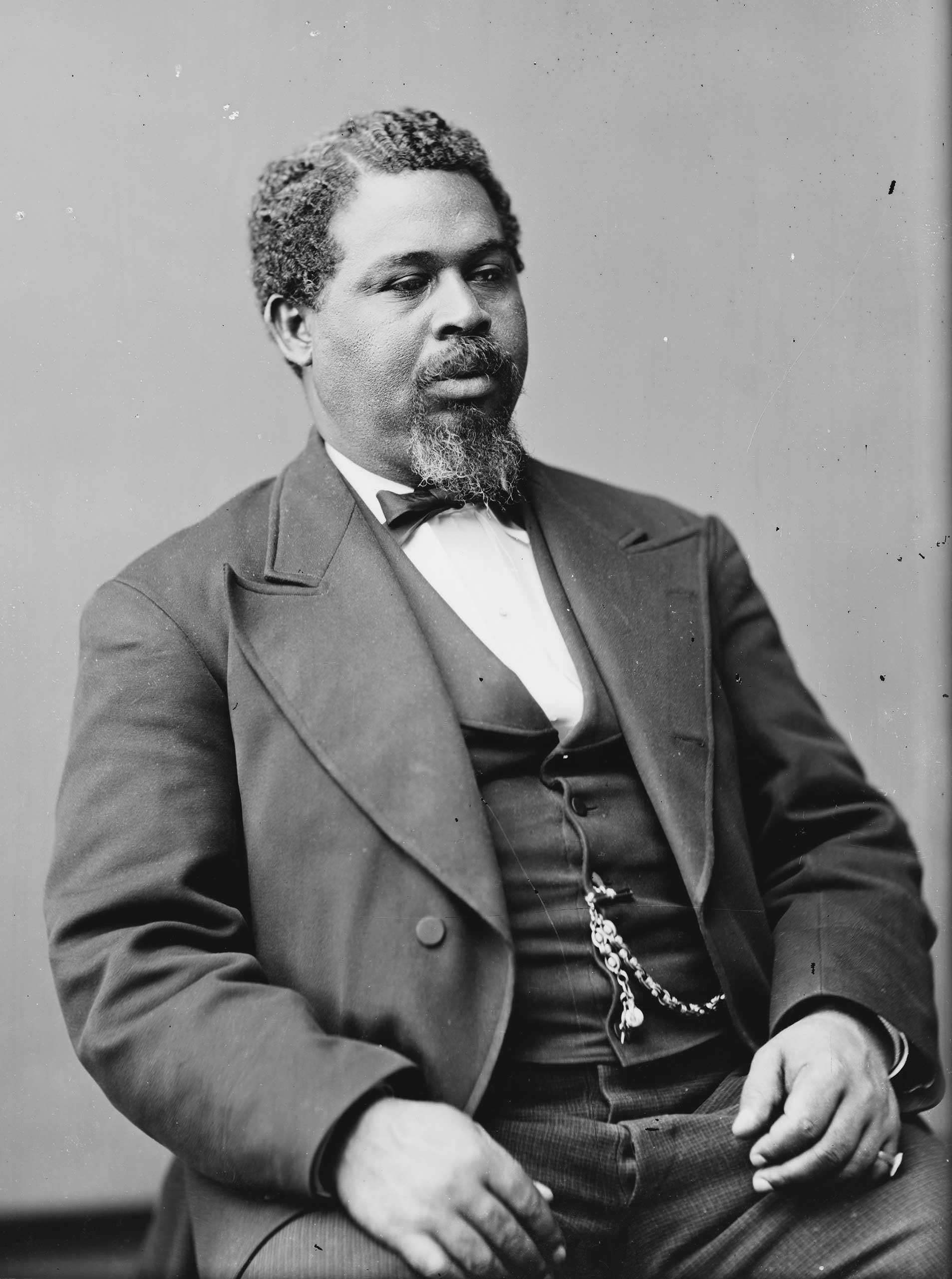 African American legislator Robert Smalls of South Carolina.