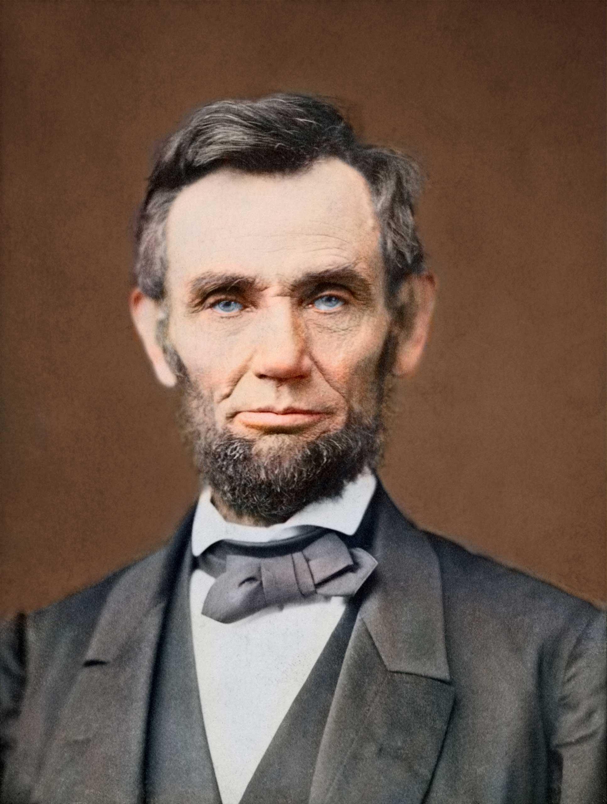 Portrait of President Abraham Lincoln, 1863.