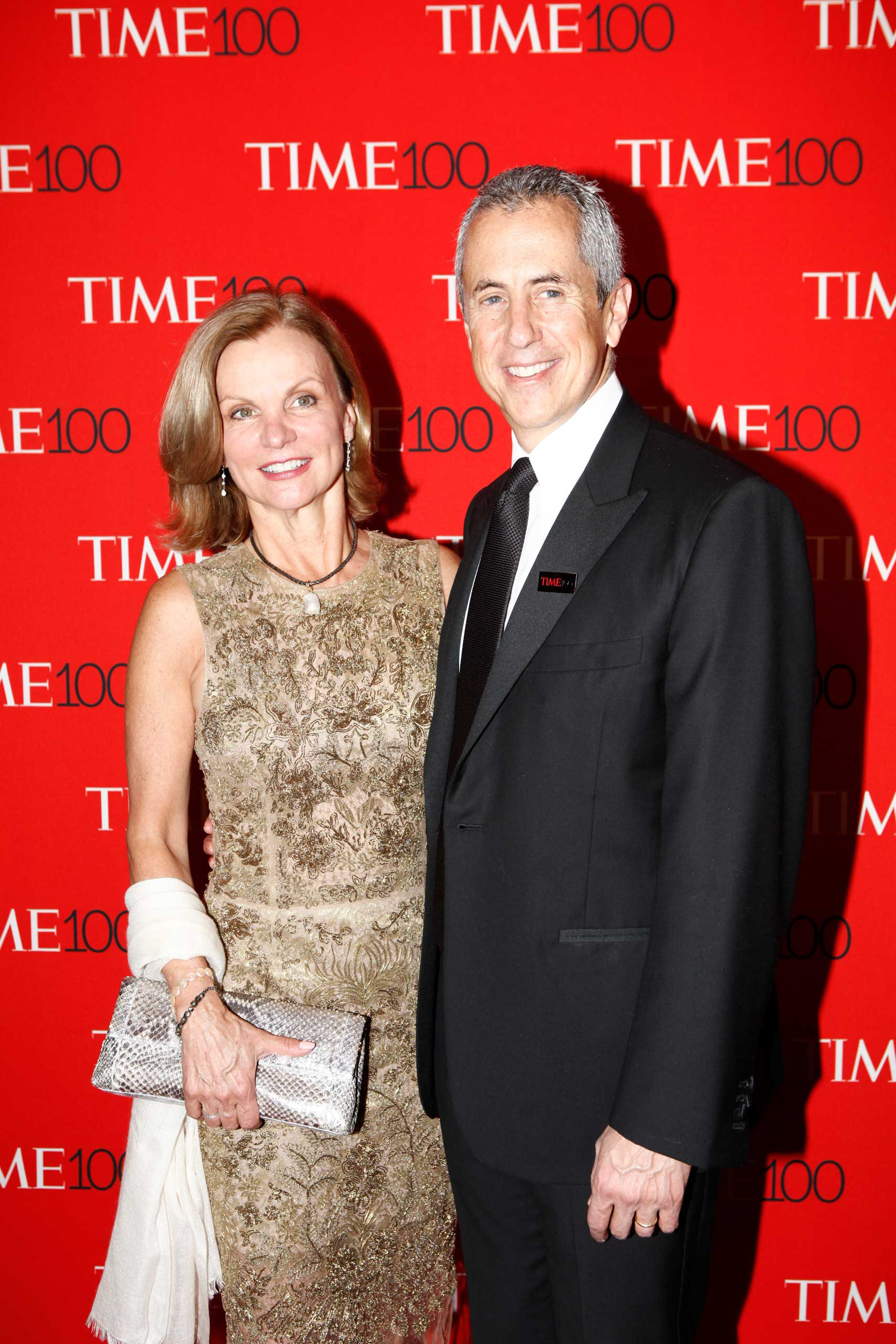Danny Meyer and Audrey Meyer attend the TIME 100 Gala at Jazz at Lincoln Center in New York City on Apr. 21, 2015.