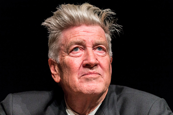 Artist David Lynch at the opening of his exhibition  Between Two Worlds  at Gallery of Modern Art in Brisbane, Australia, on March 13, 2015