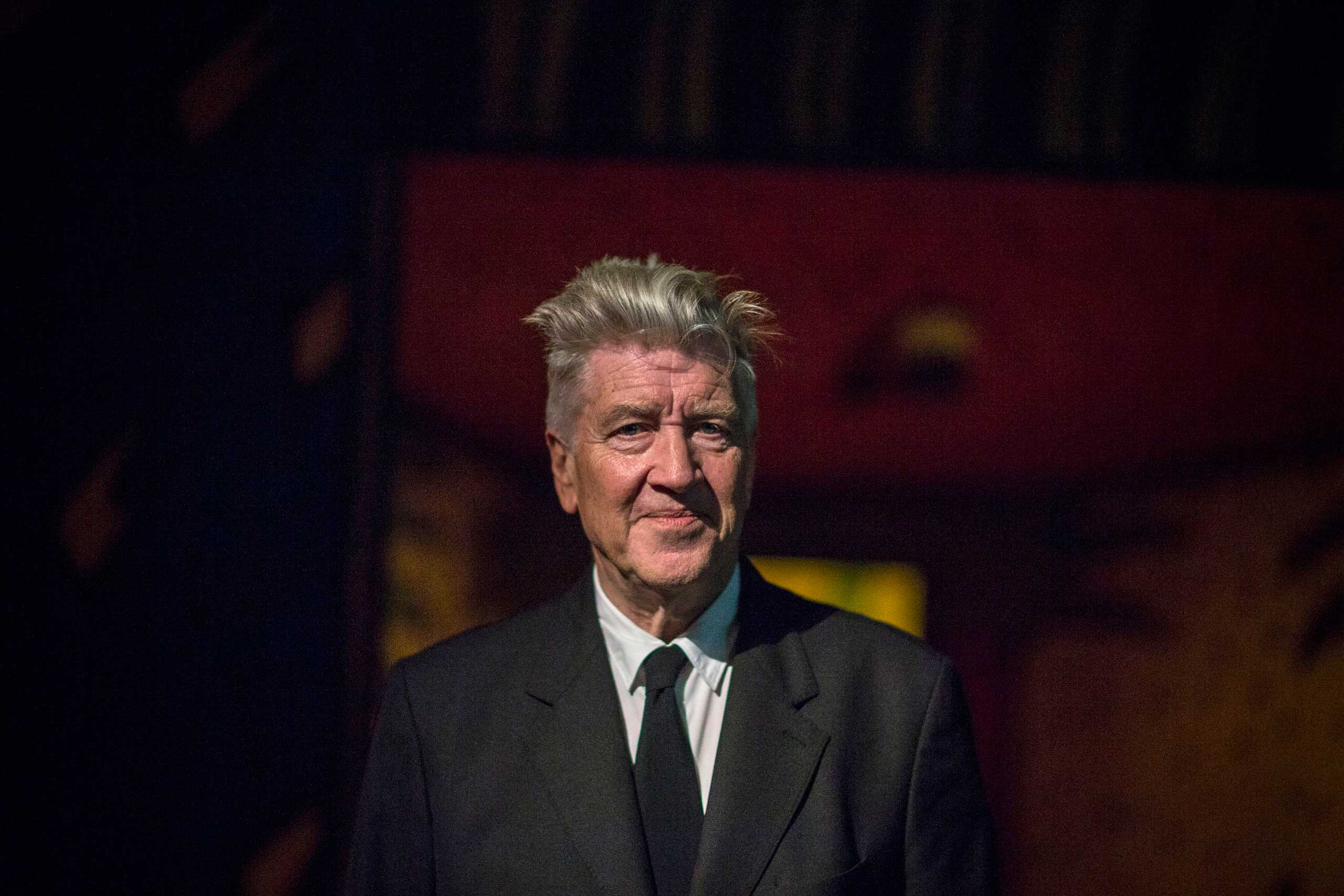 David Lynch at the opening of his exhibition: Between Two Worlds at Gallery of Modern Art (GOMA) in Brisbane, Australia, on Mar. 13, 2015.