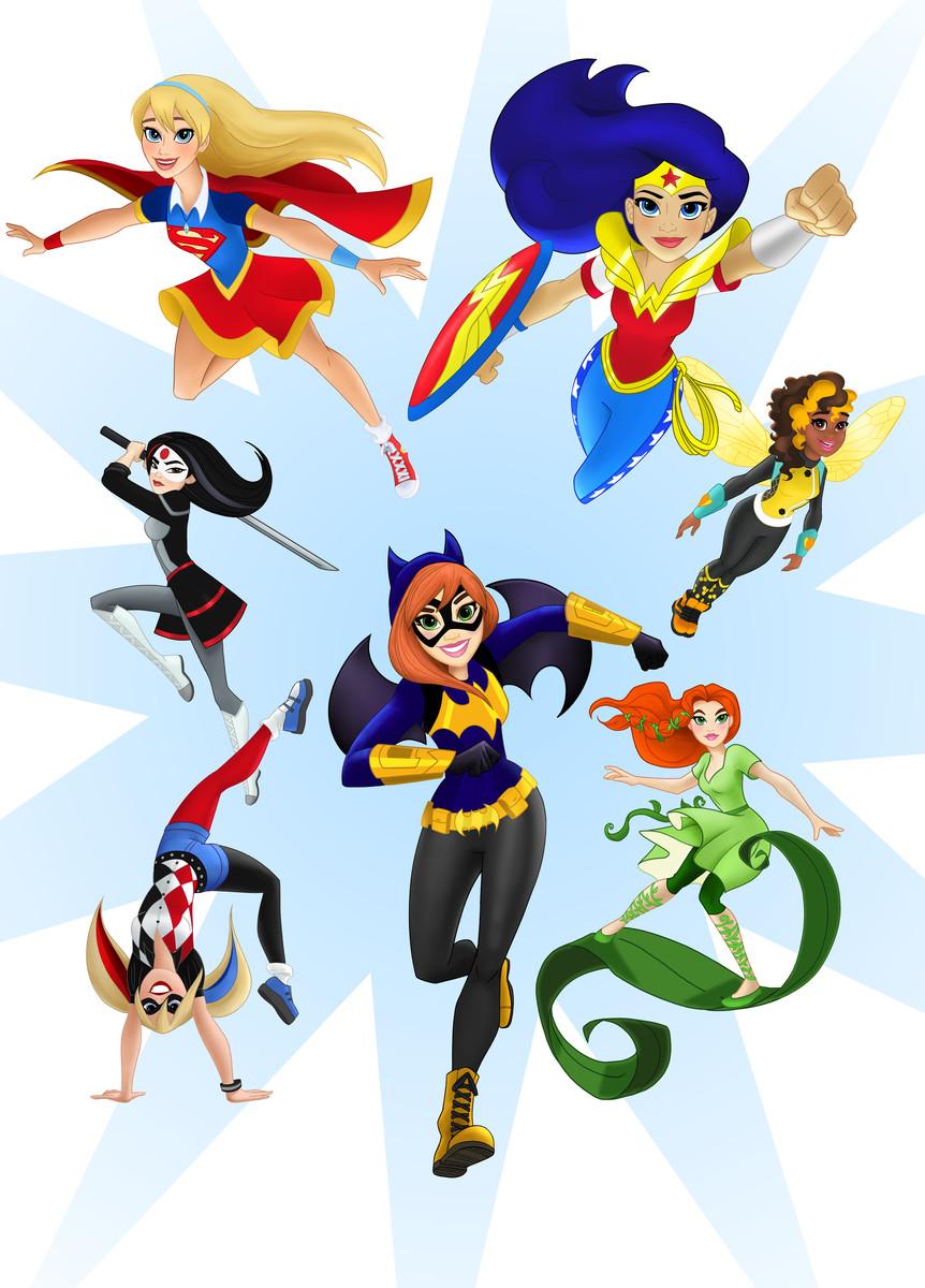 """SUPERGIRL,.. YOU PICK WONDER WOMAN 2018 MATTEL DC SuperHero GIRLS 6/"""" FIGURES"""
