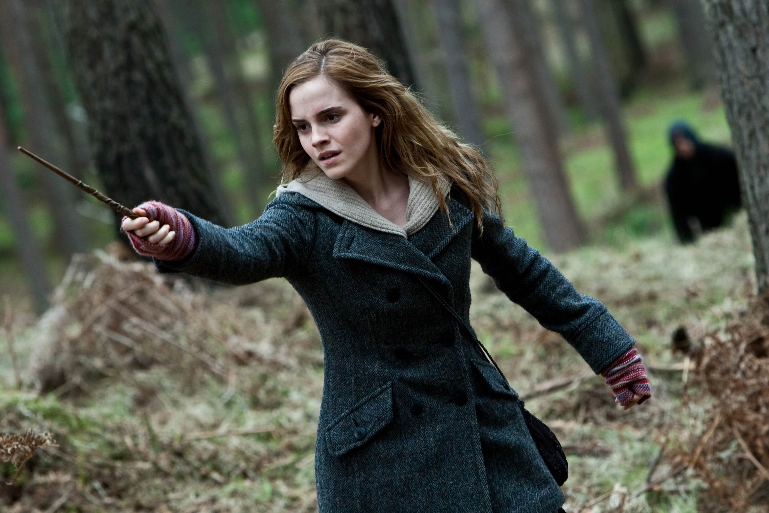 Emma Watson in <i>Harry Potter and the Deathly Hallows – Part 1</i>, 2010.