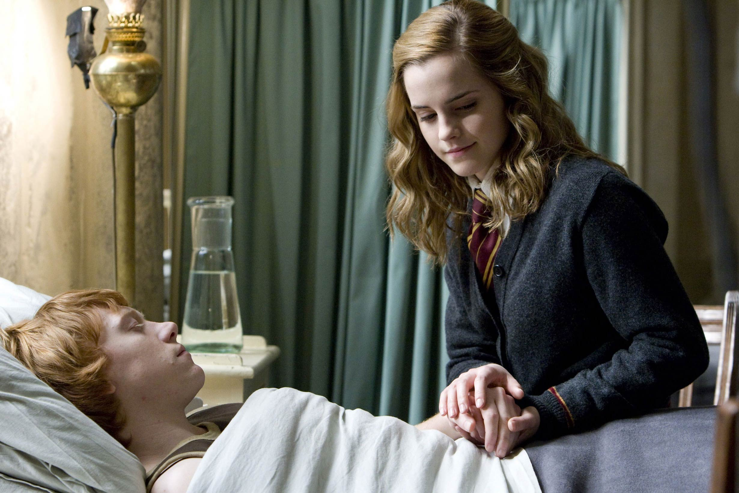 Emma Watson in <i>Harry Potter and the Half-Blood Prince</i>, 2009.