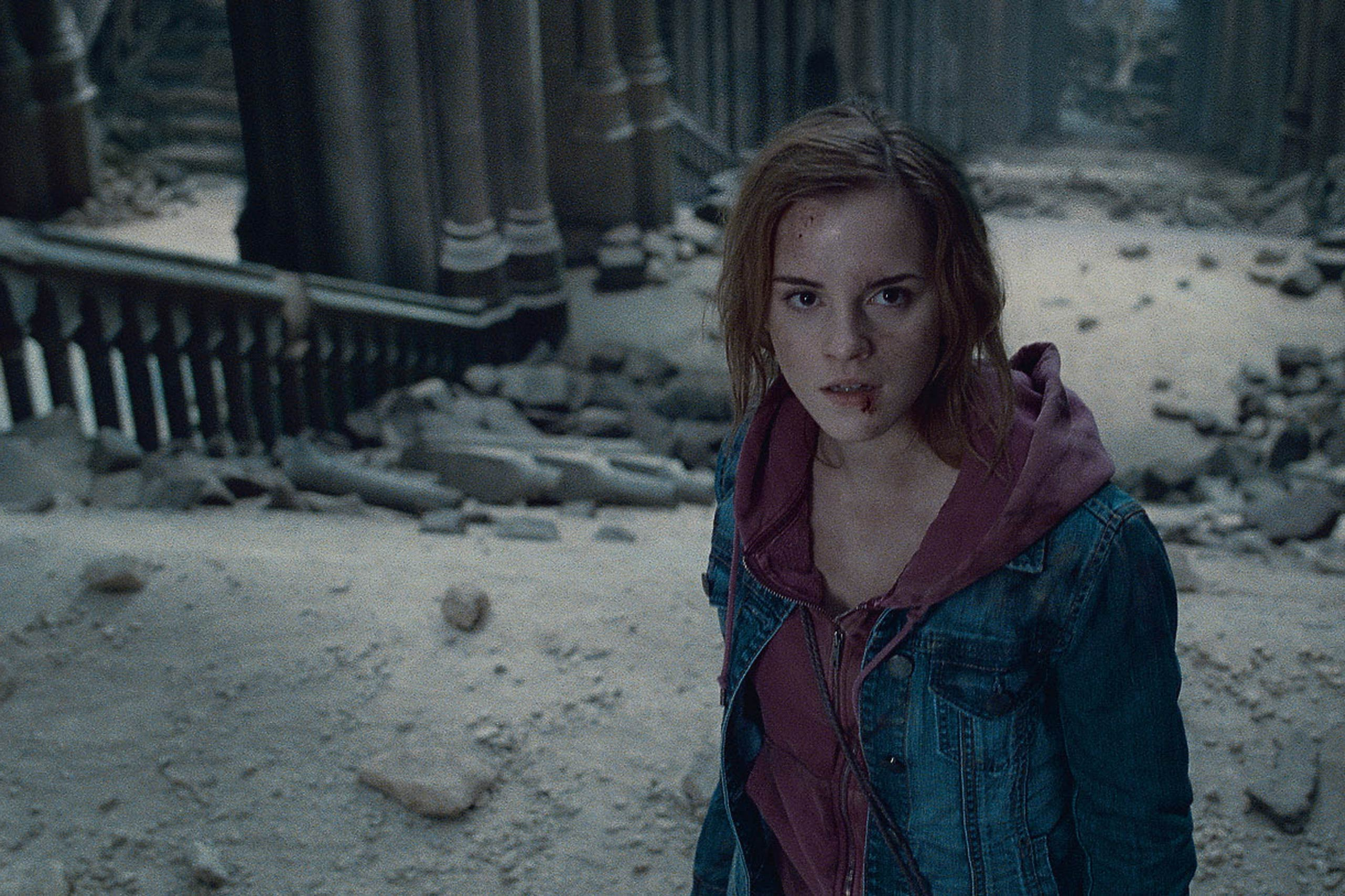 Emma Watson in <i>Harry Potter and the Deathly Hallows – Part 2</i>, 2011.