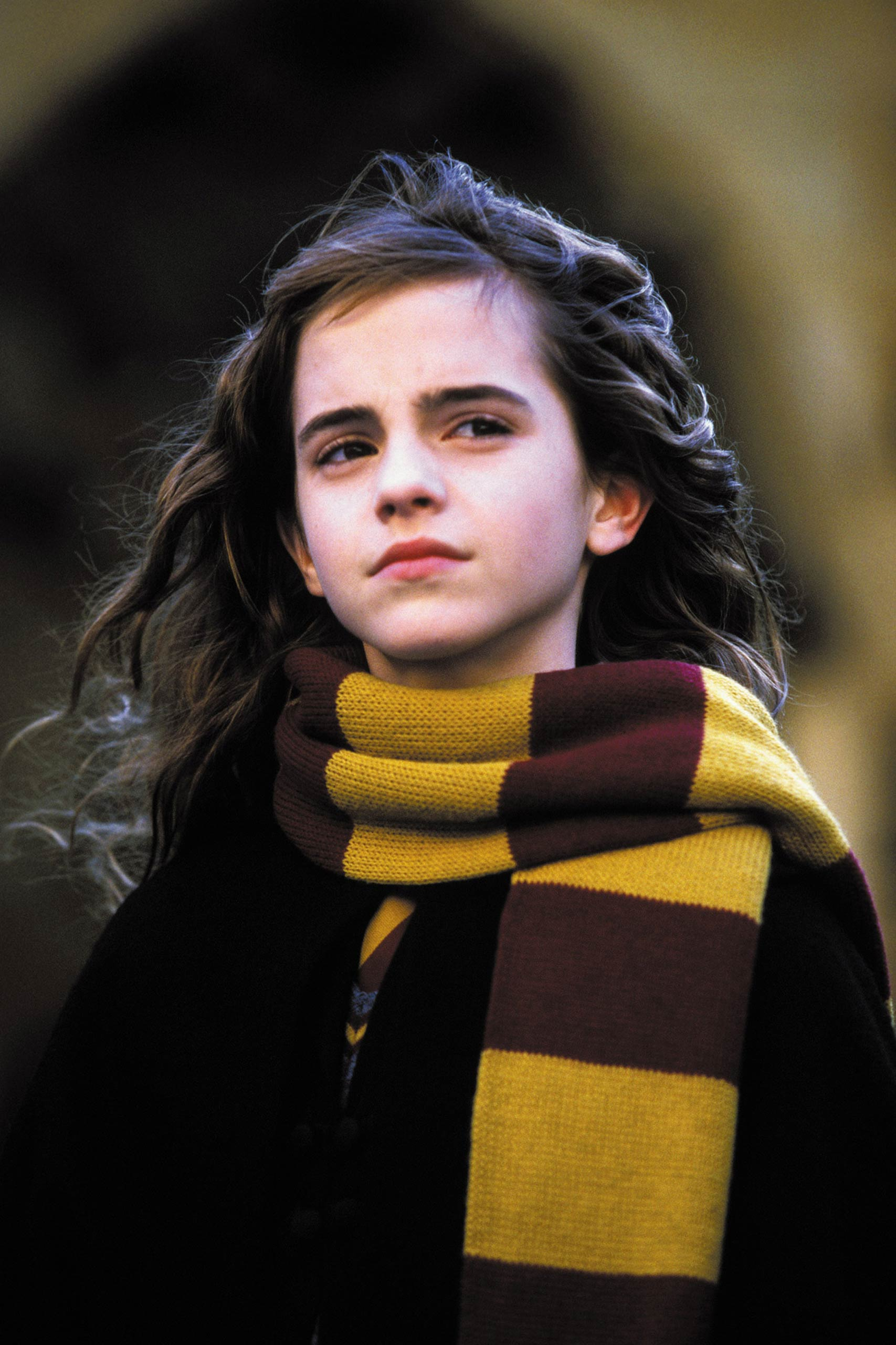 Emma Watson in <i>Harry Potter and the Chamber of Secrets</i>, 2002.