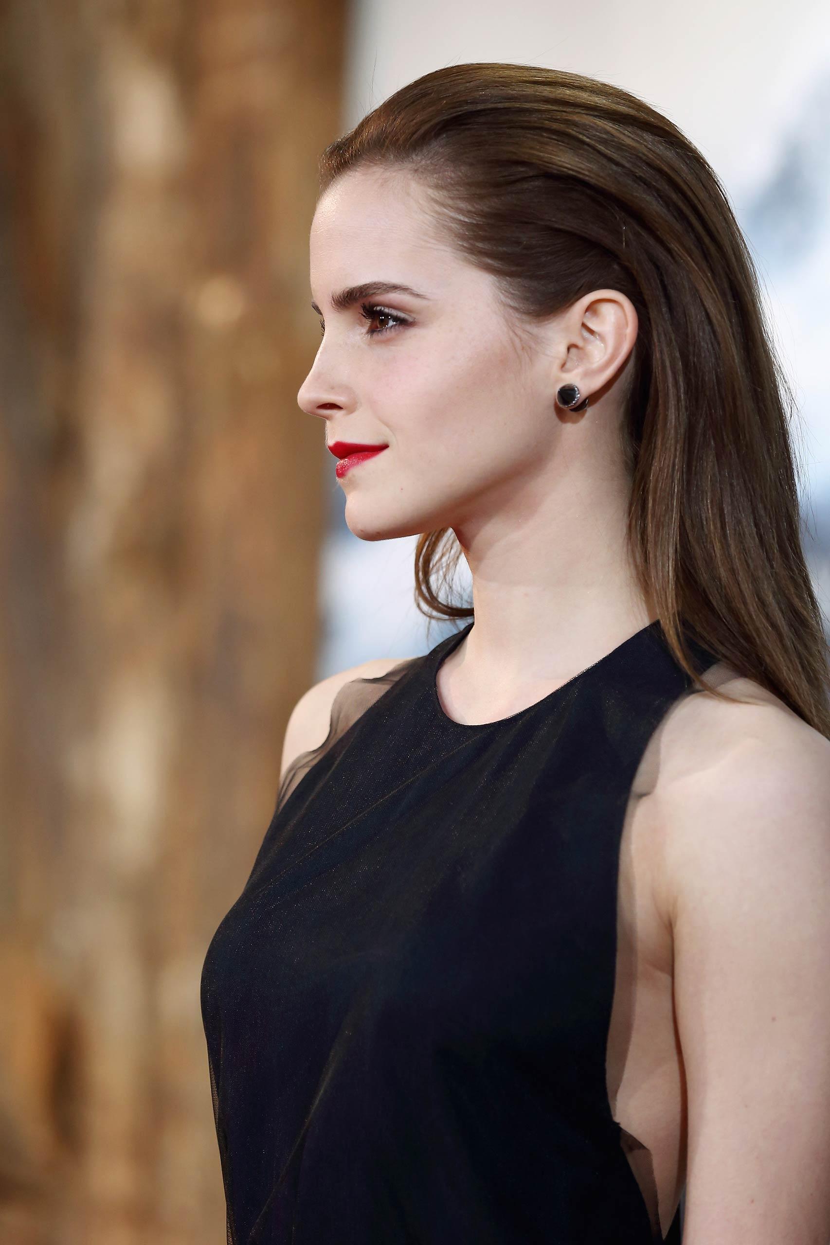 Emma Watson attends the premiere of <i>Noah</i> in Berlin in 2014.