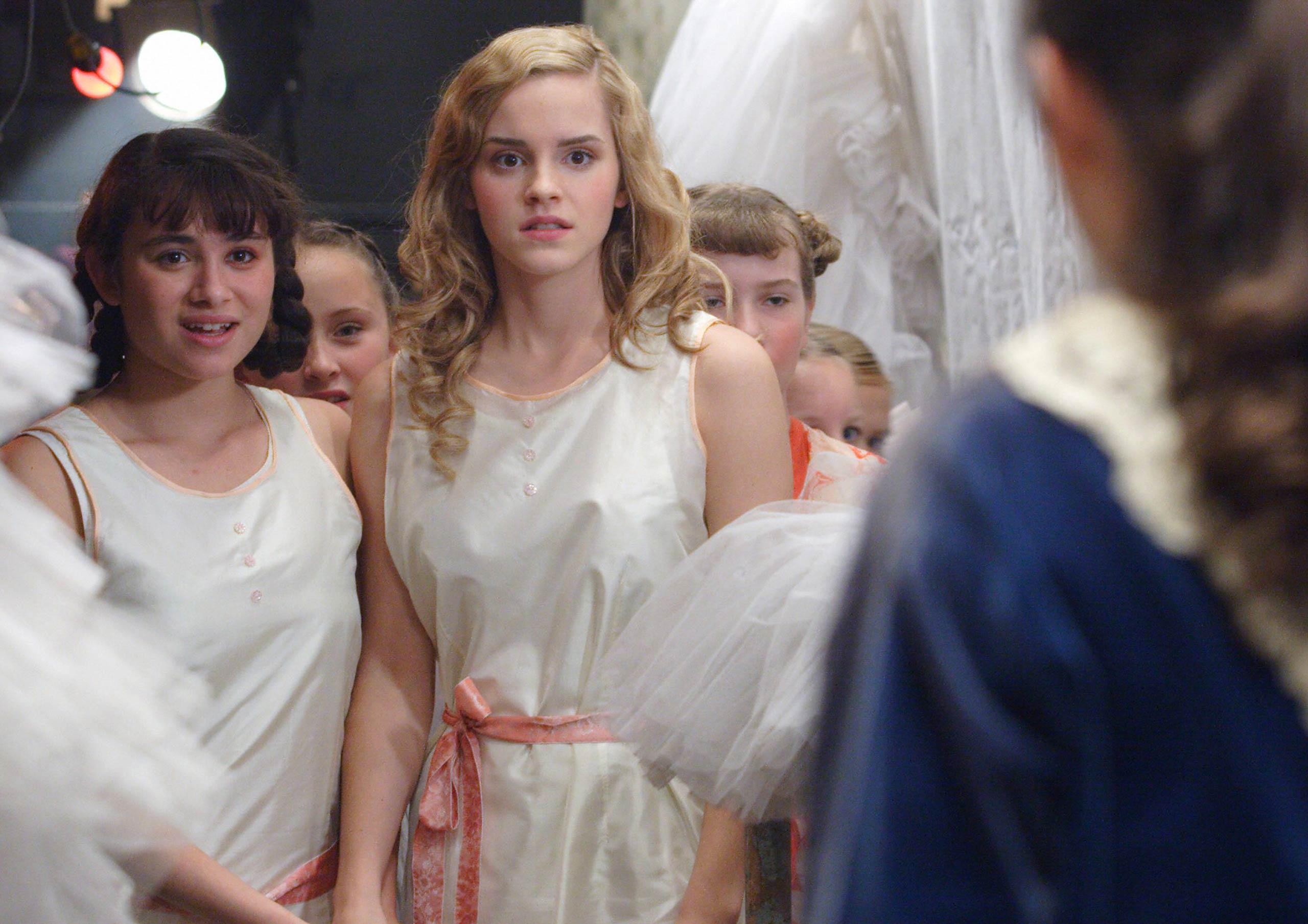 Emma Watson in <i>Ballet Shoes</i>, 2007.