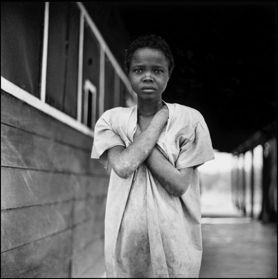 HAITI. The American drug companies tested Milltown, an early tranquilzer experiment at this asylum. 1954.