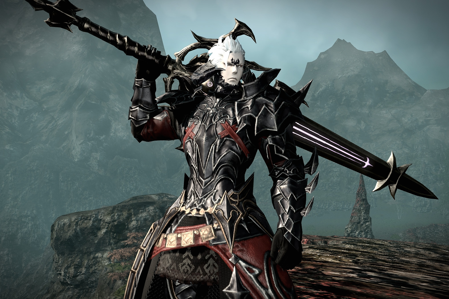 The new Dark Knight job introduced in Final Fantasy XIV: Heavensward