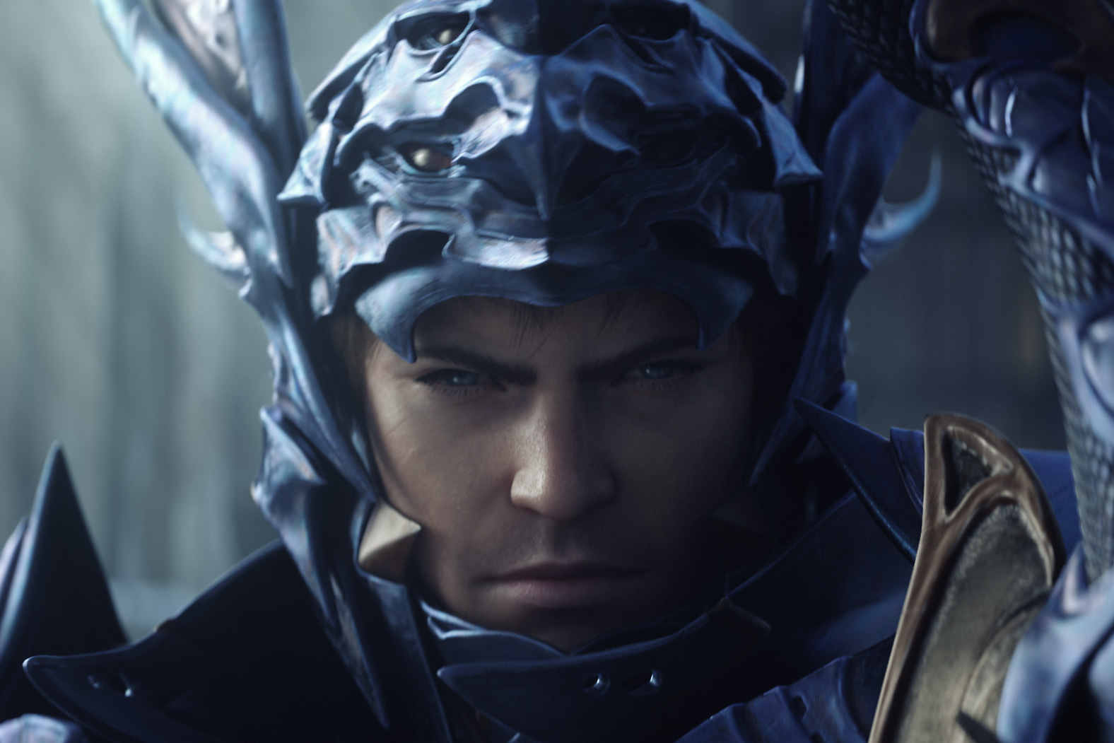 A dragoon suits up in Final Fantasy XIV: Heavensward