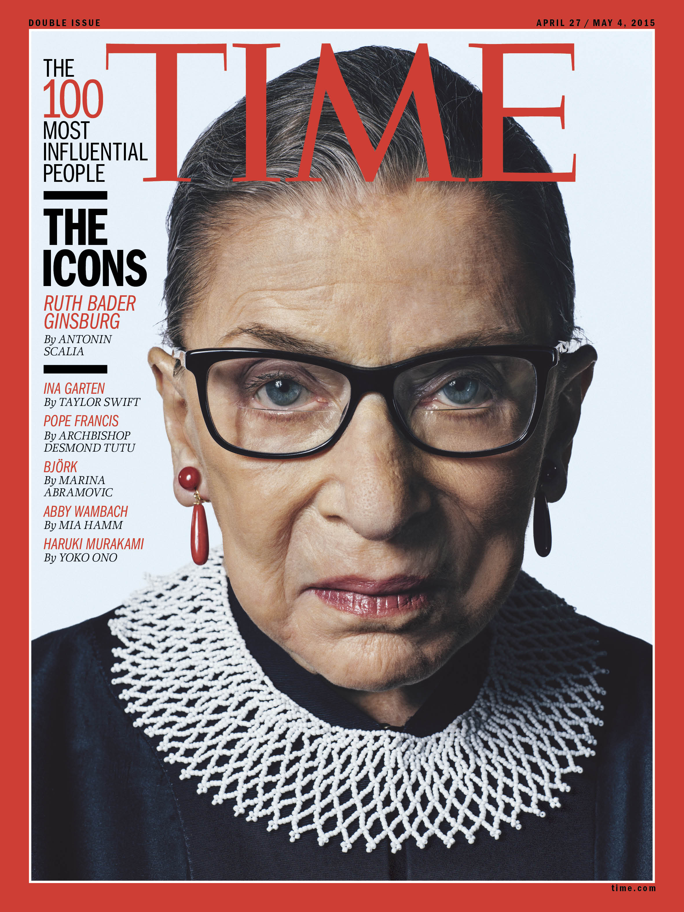 Antonin Scalia on Ruth Bader Ginsburg:   I can attest that her opinions are always thoroughly considered, always carefully crafted and almost always correct (which is to say we sometimes disagree).