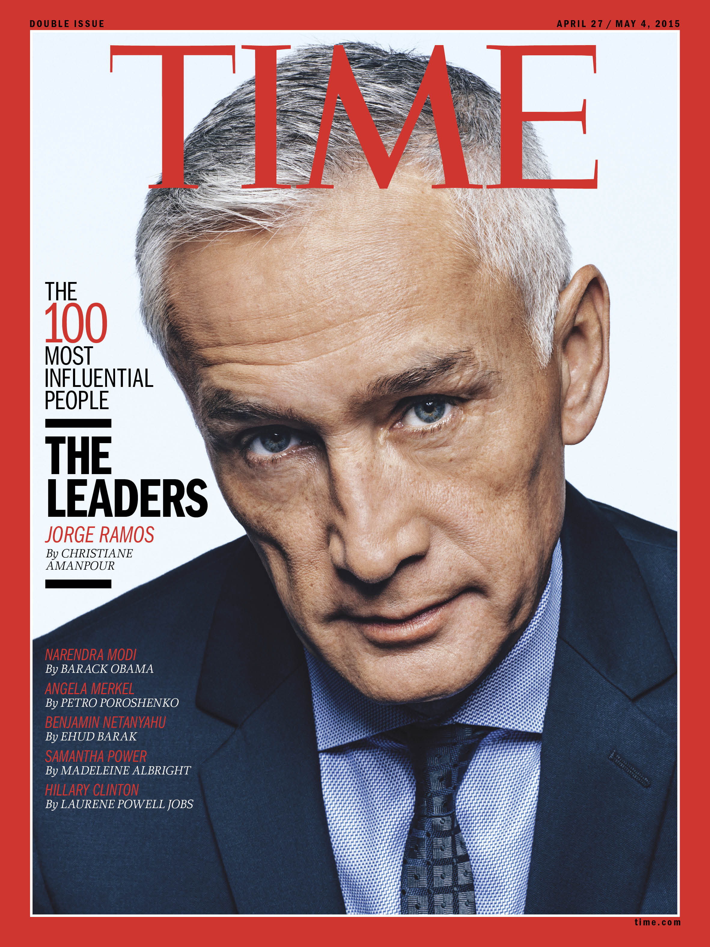 Christiane Amanpour on Jorge Ramos:   He knows he has a voice and is not afraid to use it. He shouts from every rooftop that Hispanic rights are human rights.