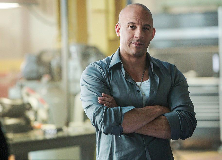 Vin Diesel stars in Furious 7