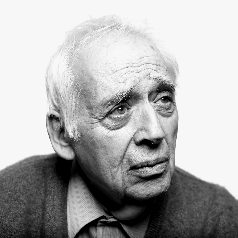 Literary scholar Harold Bloom.
