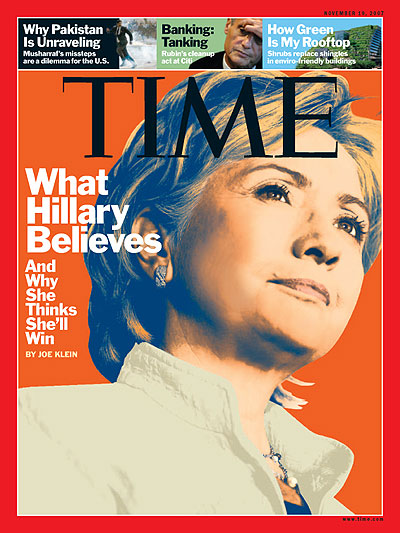The November 19, 2007 issue of TIME