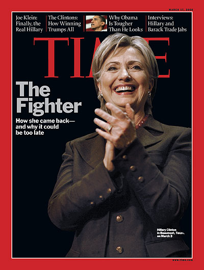 The March 17, 2008 issue of TIME