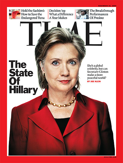 The November 16, 2009 issue of TIME