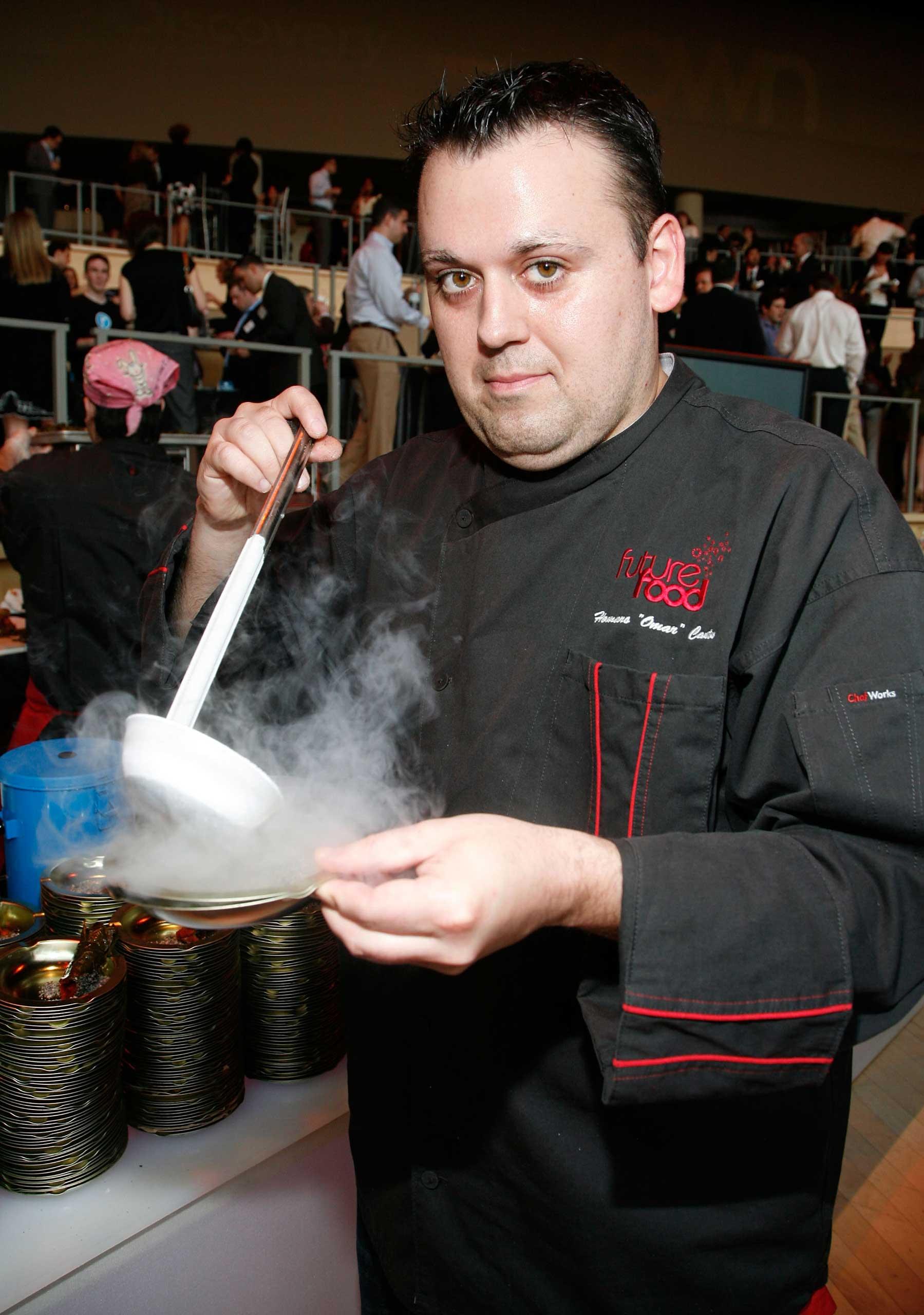 Chef Homaro Cantu in 2010.
