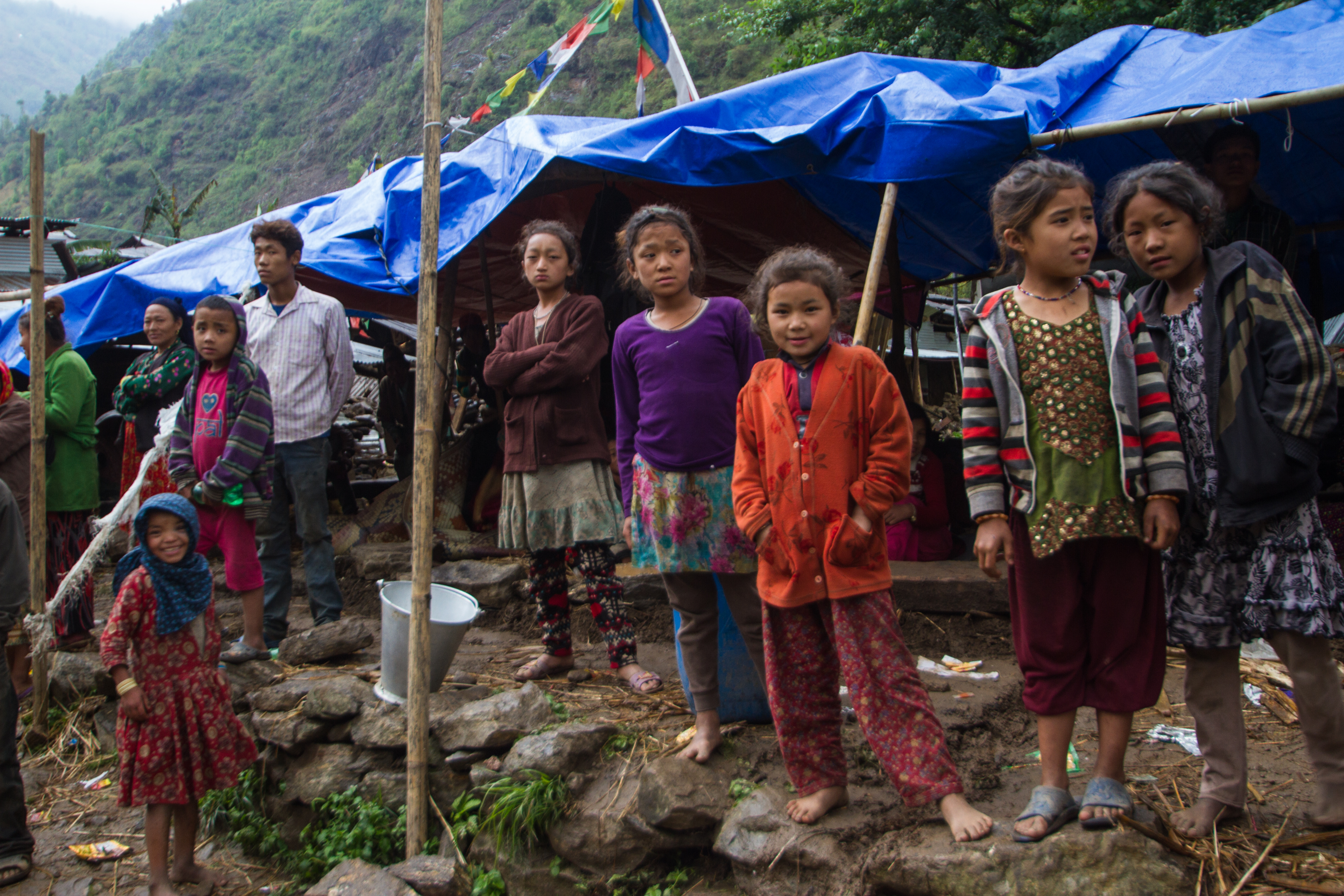 Like many in rural Nepal, the villagers of Ghyangphedi are still waiting for relief five days after a devastating earthquake