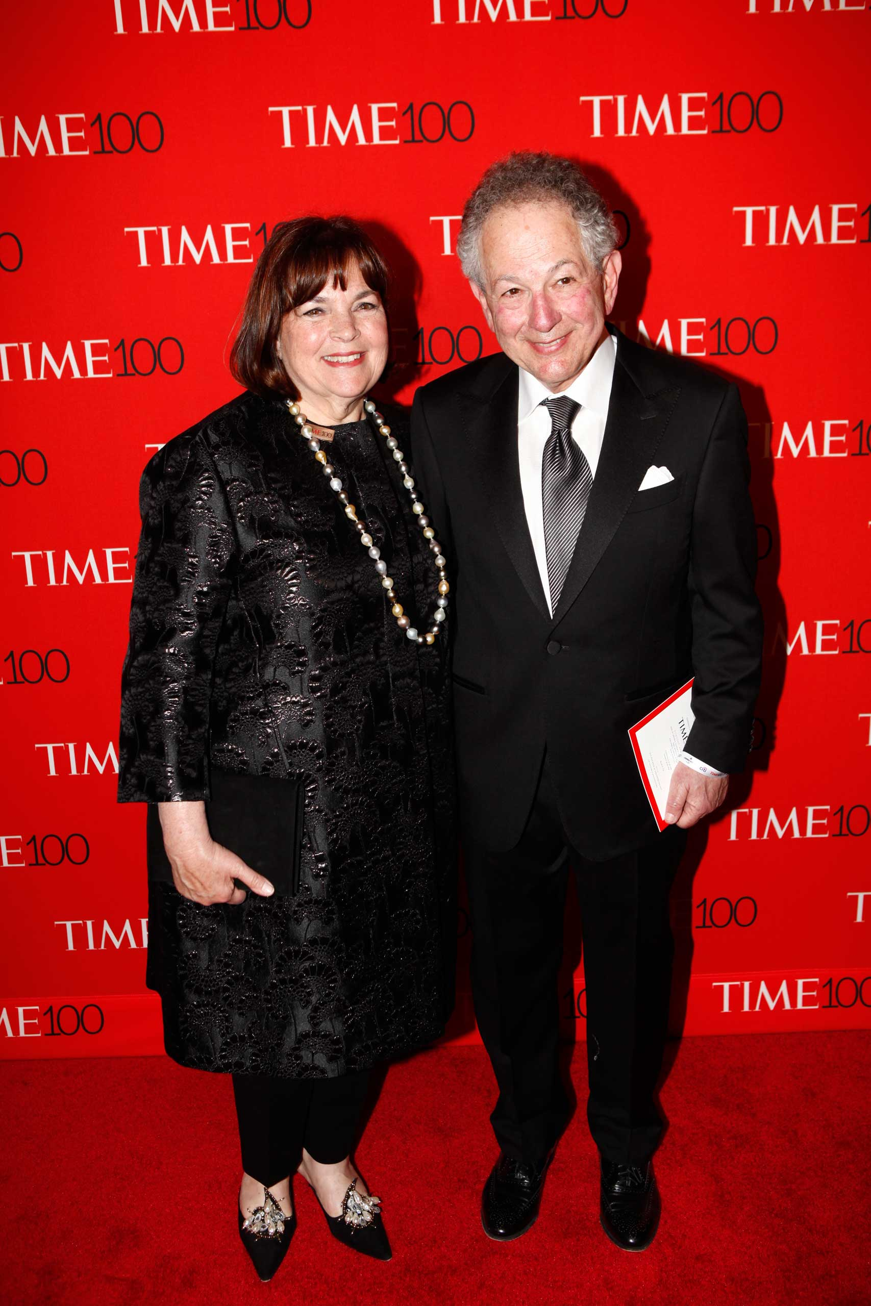 Ina Garten and Jeffrey Garten attend the TIME 100 Gala at Jazz at Lincoln Center in New York City on Apr. 21, 2015.